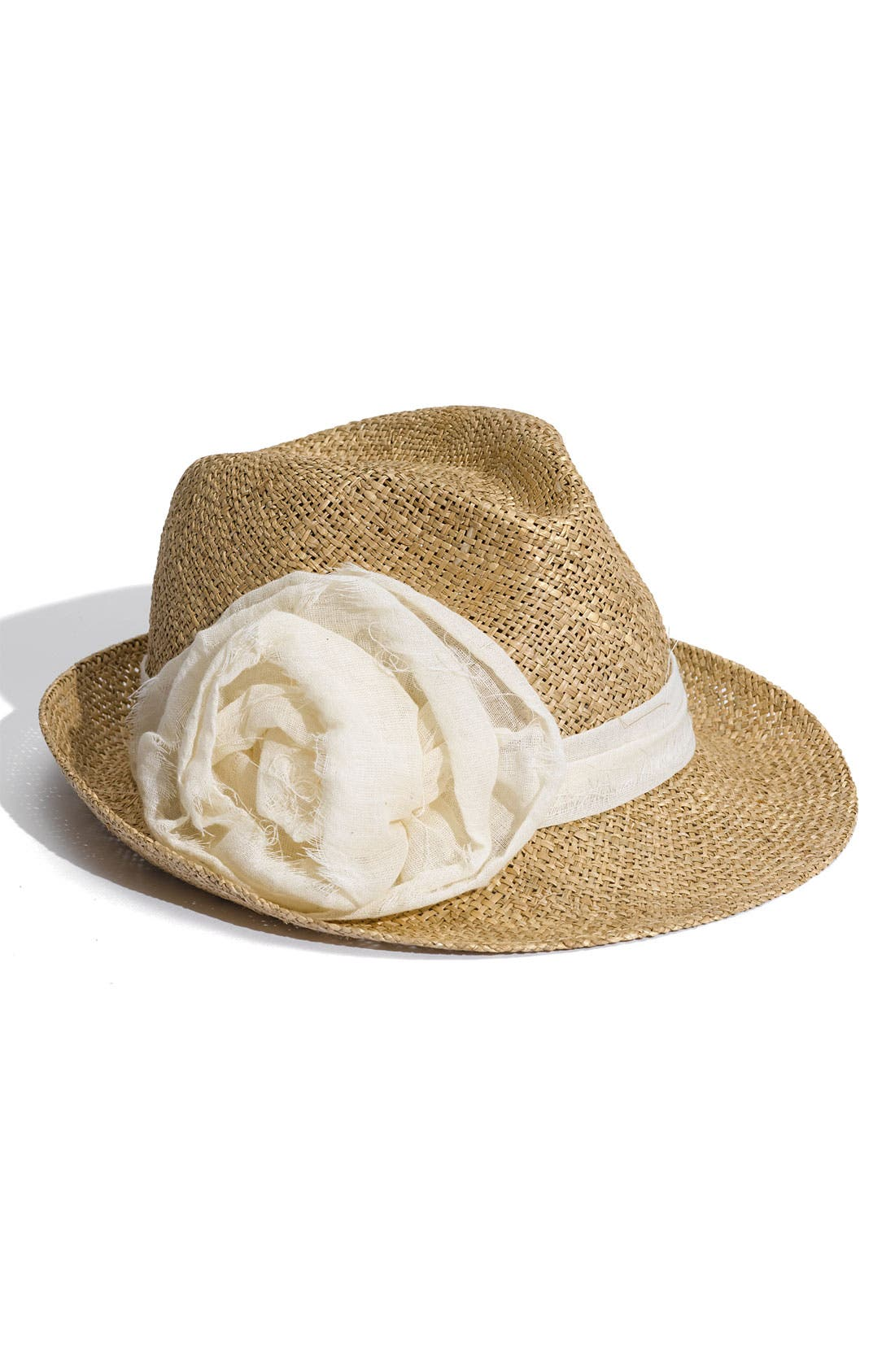 Alternate Image 1 Selected - Tarnish Straw Fedora