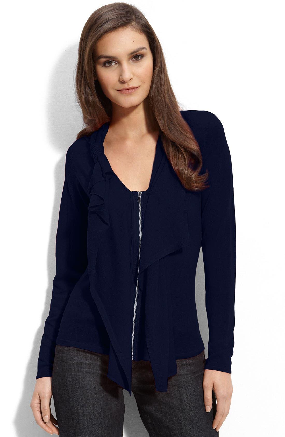Alternate Image 1 Selected - Elie Tahari 'Lydia' Merino Wool Sweater