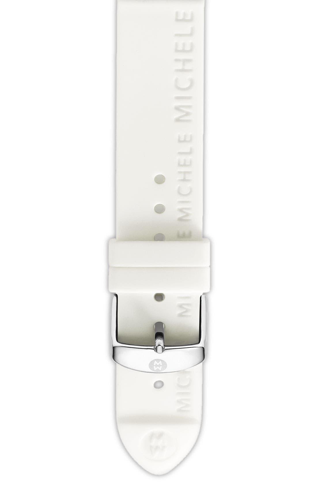 Main Image - MICHELE 'Sport Sail' Diamond Gold Customizable Watch