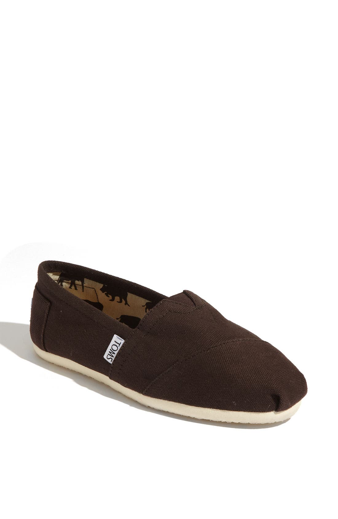 Alternate Image 1 Selected - TOMS 'Classic' Canvas Slip-On (Women)
