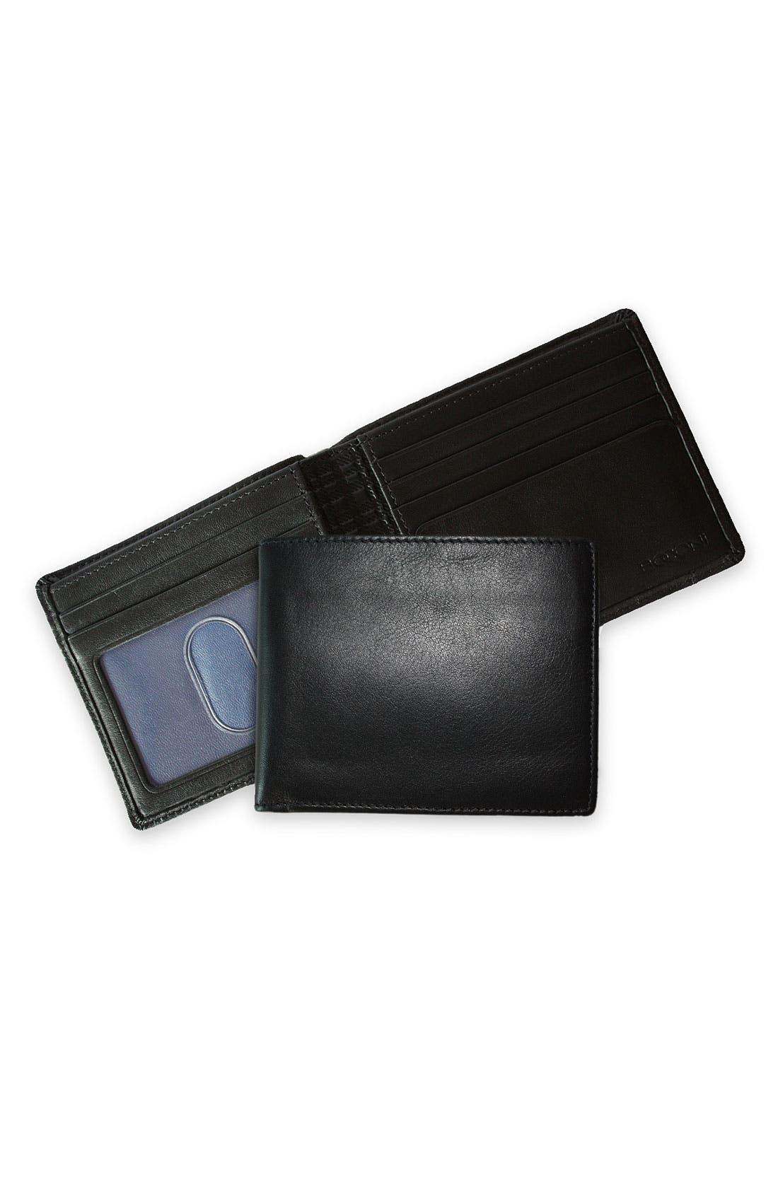 Alternate Image 1 Selected - Boconi Leather Billfold