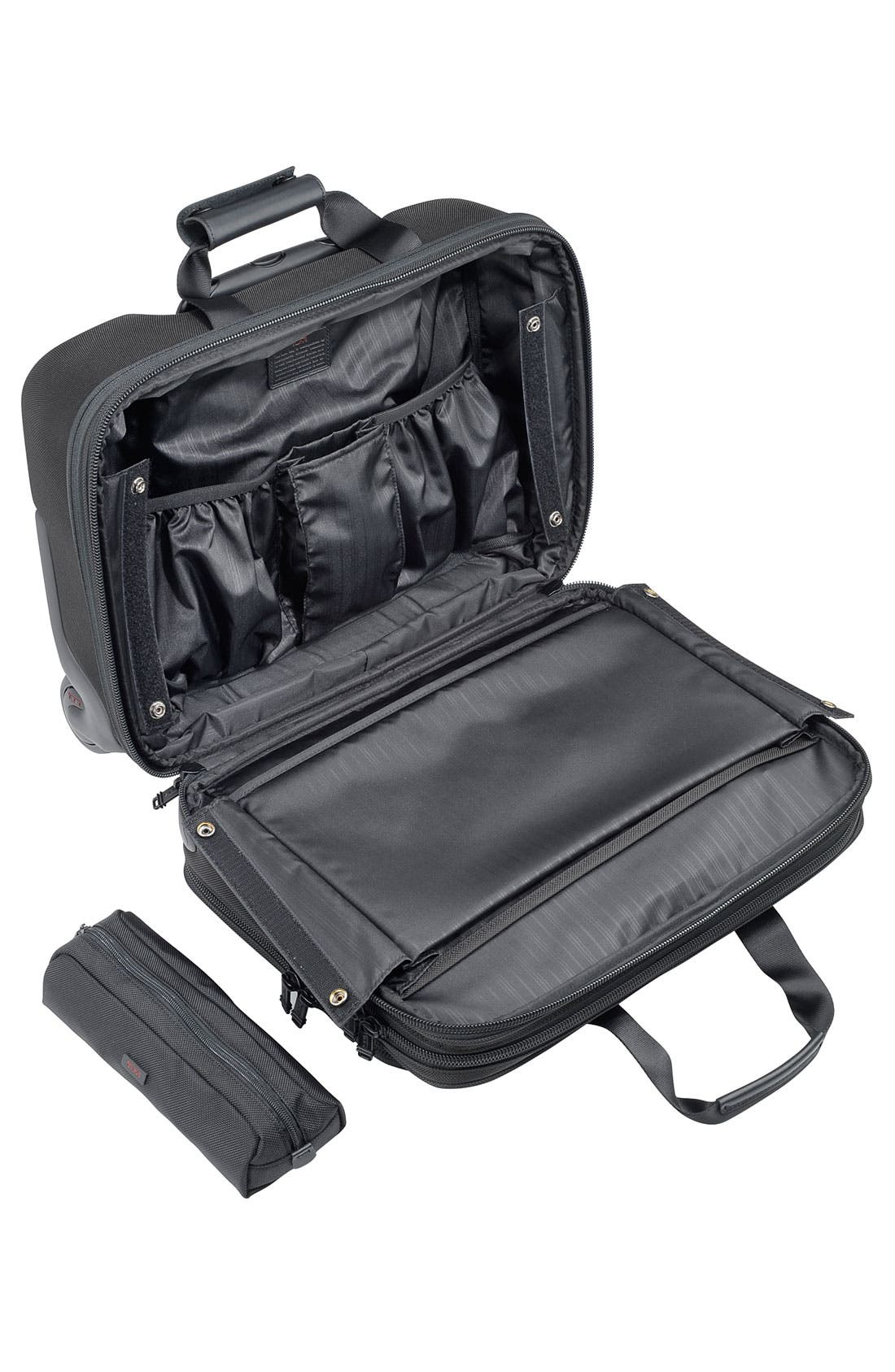 Alternate Image 2  - Tumi 'Alpha' Deluxe Wheeled Briefcase with Laptop Case