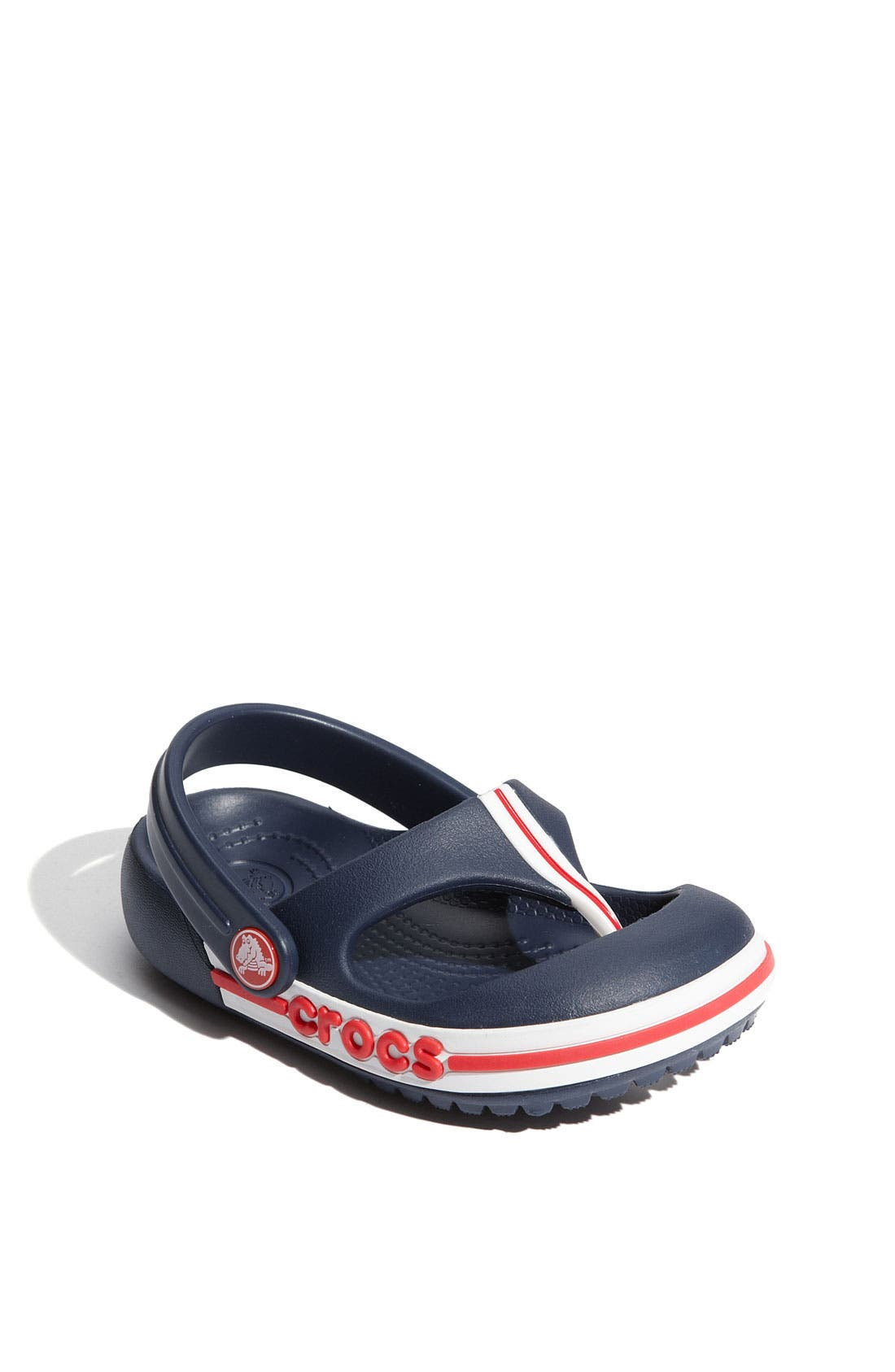 Alternate Image 1 Selected - CROCS™ 'Crocband' Flip Flop (Walker, Toddler & Little Kid)