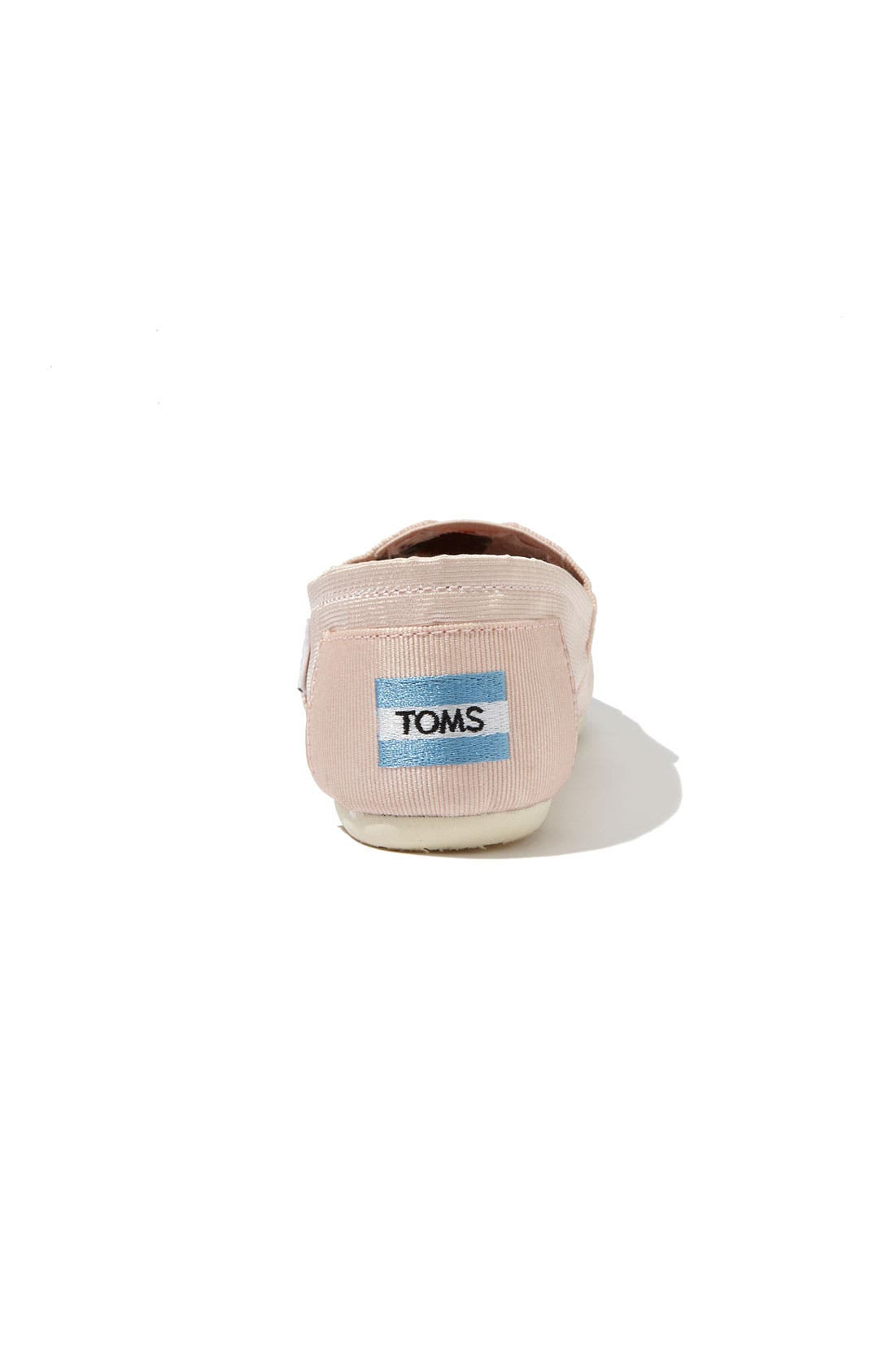 Alternate Image 4  - TOMS Grosgrain Ribbon Slip-On (Women)