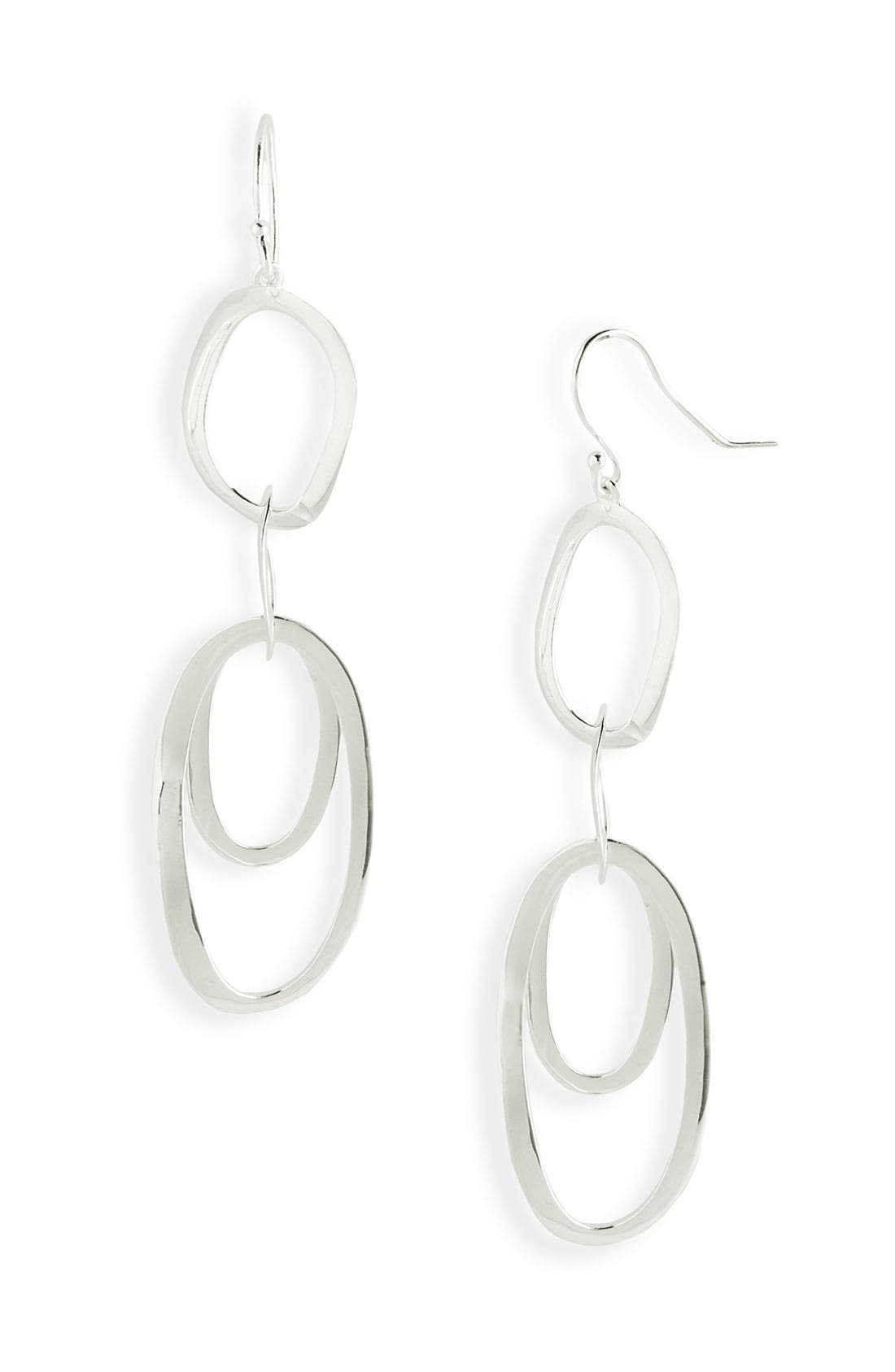 Alternate Image 1 Selected - Ippolita 'Scultura' Rosé Multi Oval Earrings