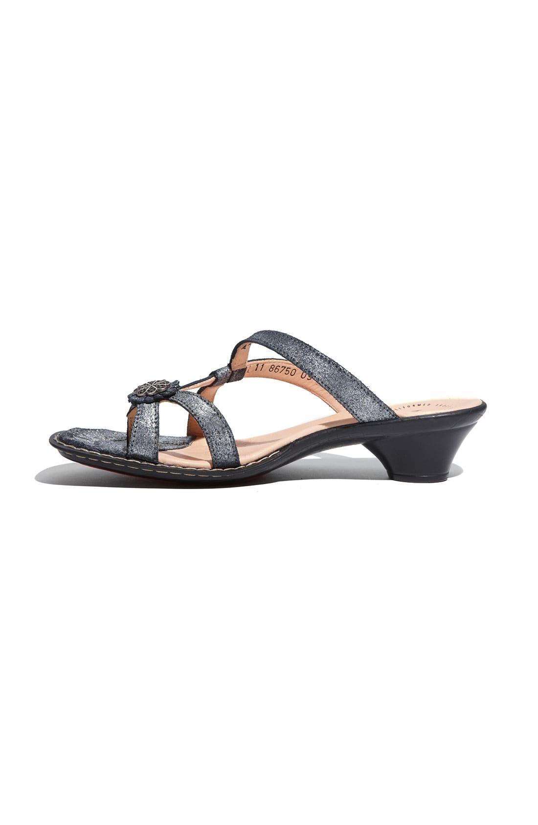 Alternate Image 2  - Think! 'Soso' Metallic Leather Sandal