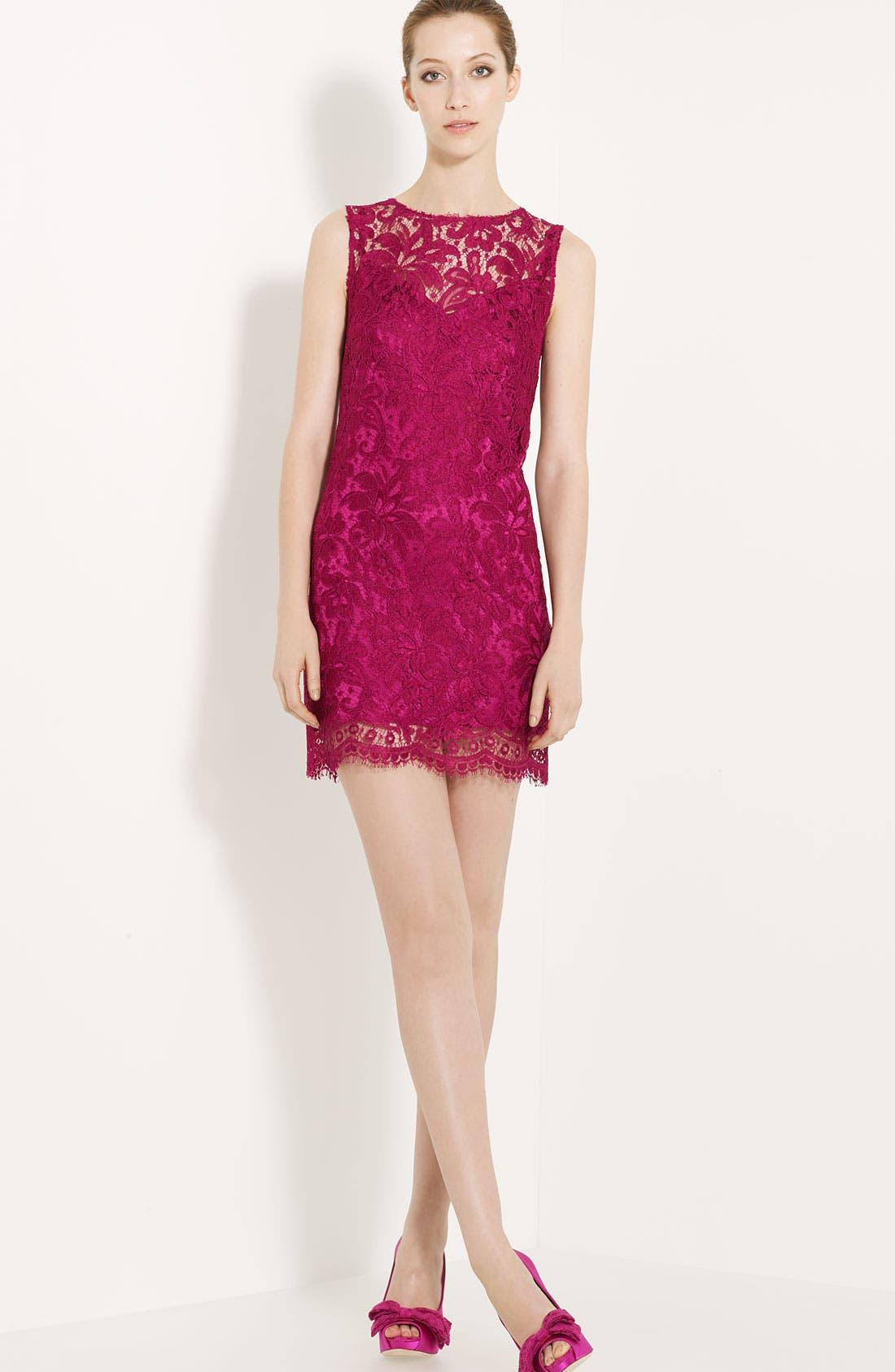 Alternate Image 1 Selected - Dolce&Gabbana Lace Shift Dress