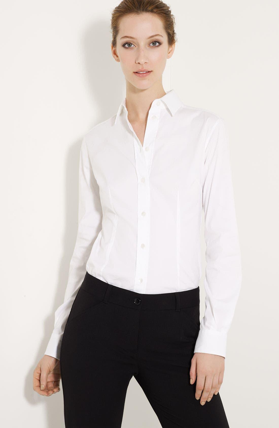 Main Image - Dolce&Gabbana Stretch Woven Shirt