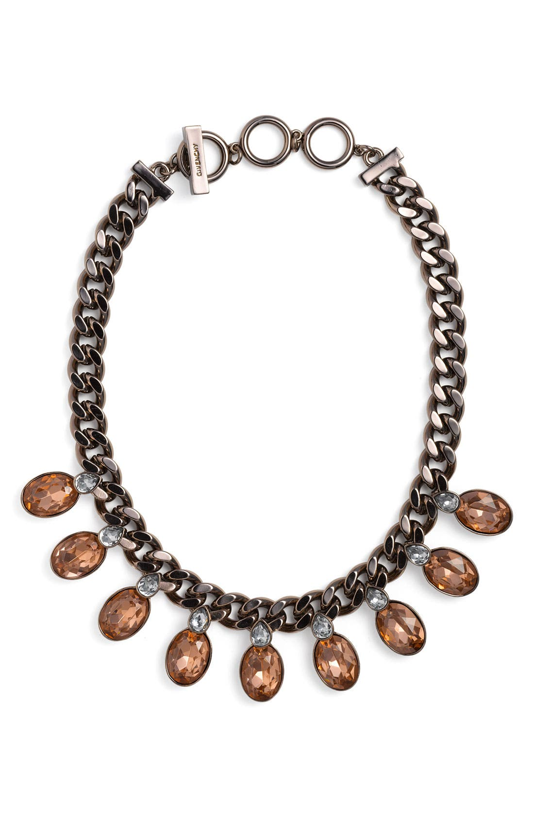 Main Image - Givenchy Burnished Statement Necklace (Nordstrom Exclusive)