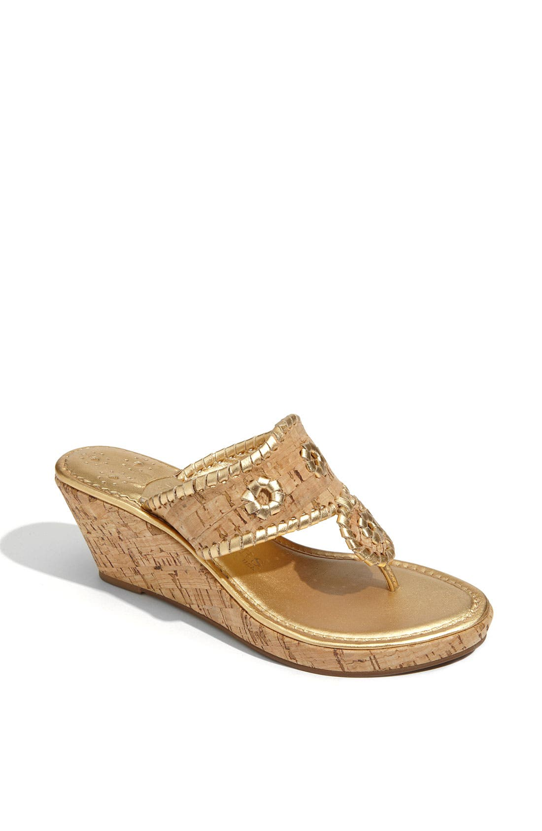 Alternate Image 1 Selected - Jack Rogers 'Marbella' Cork Sandal
