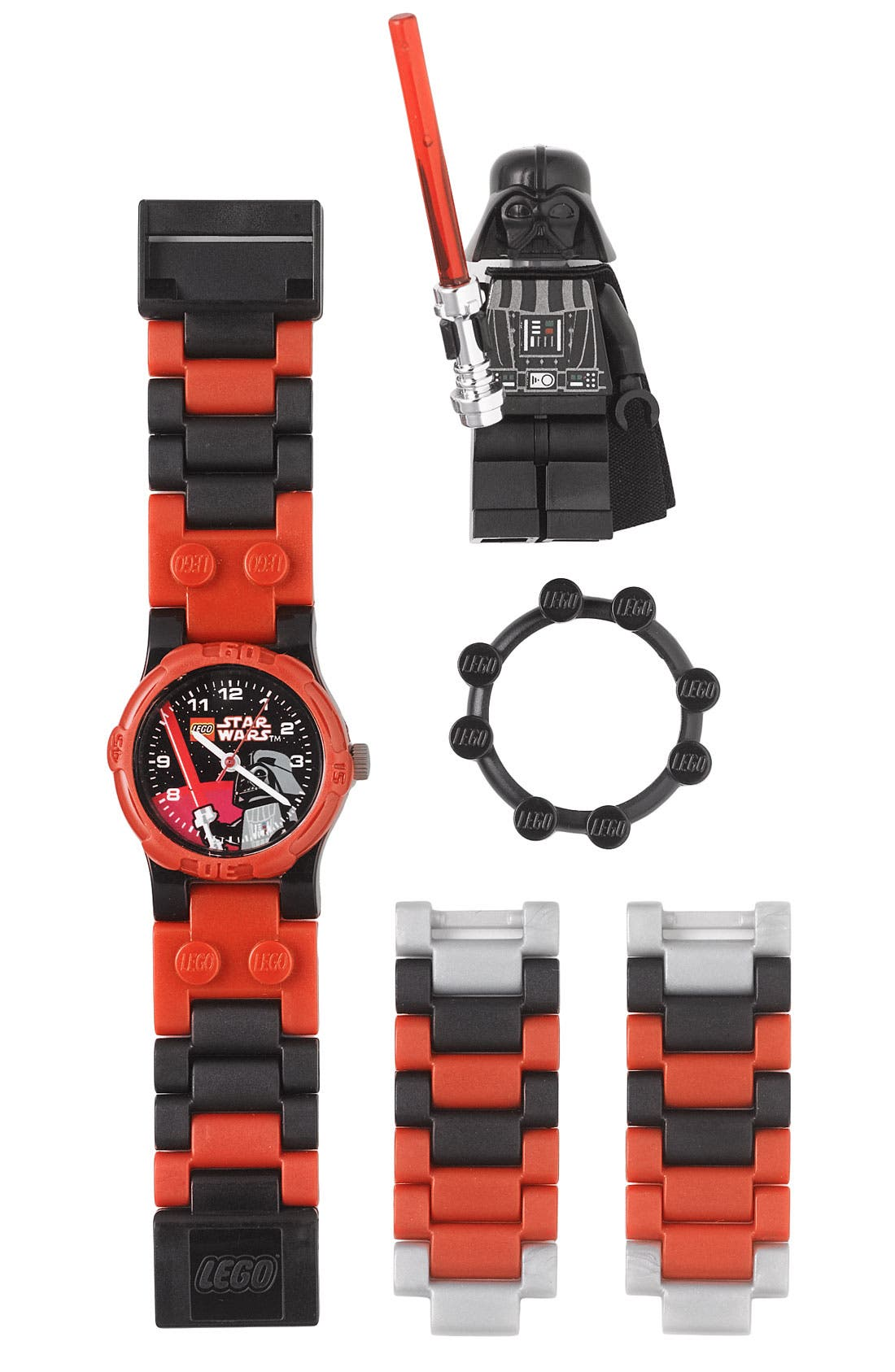 Alternate Image 1 Selected - LEGO® 'Darth Vader™' Character Watch & Toy (Boys)