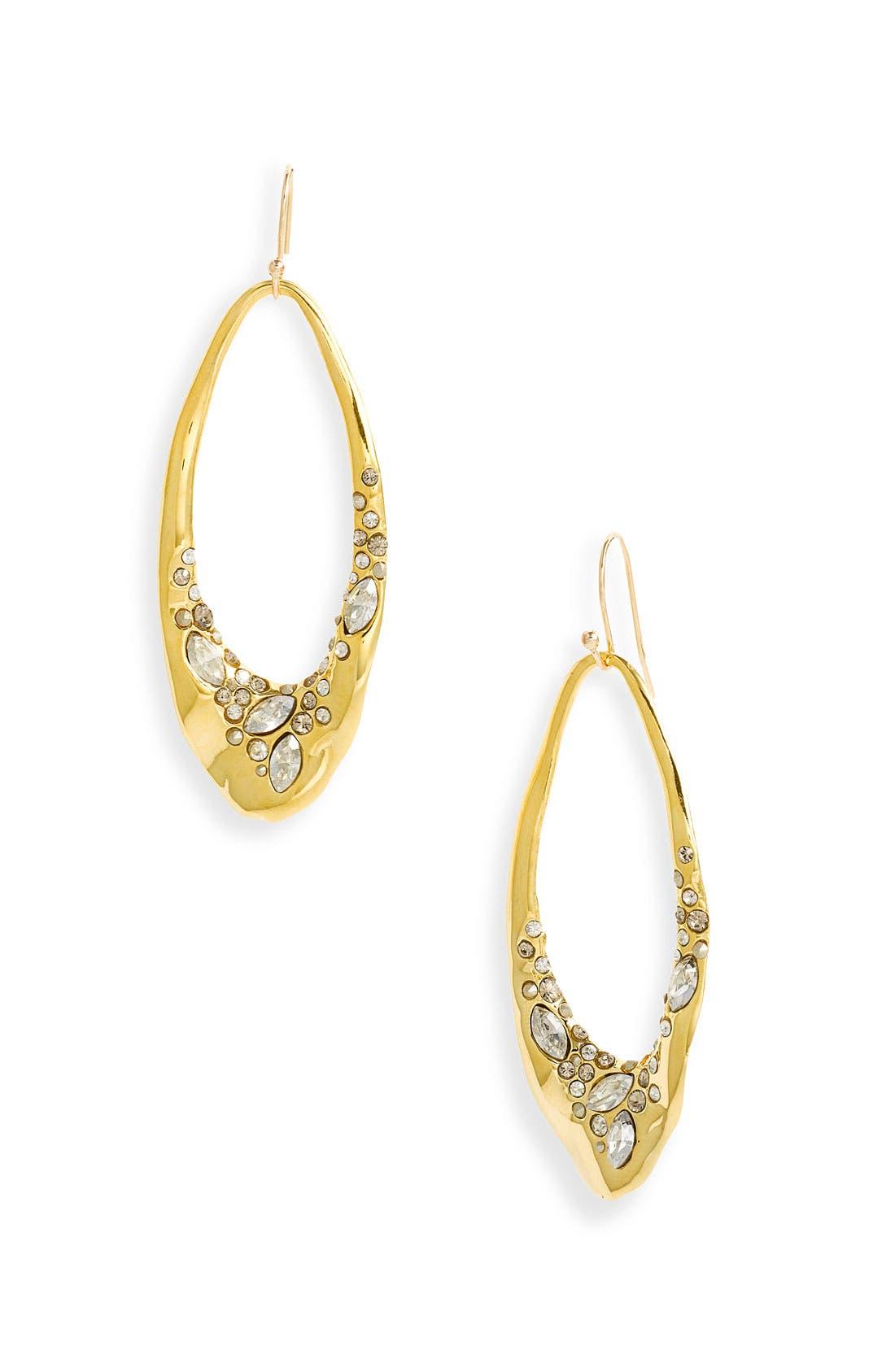 Alternate Image 1 Selected - Alexis Bittar 'Miss Havisham' Encrusted Liquid Link Earrings