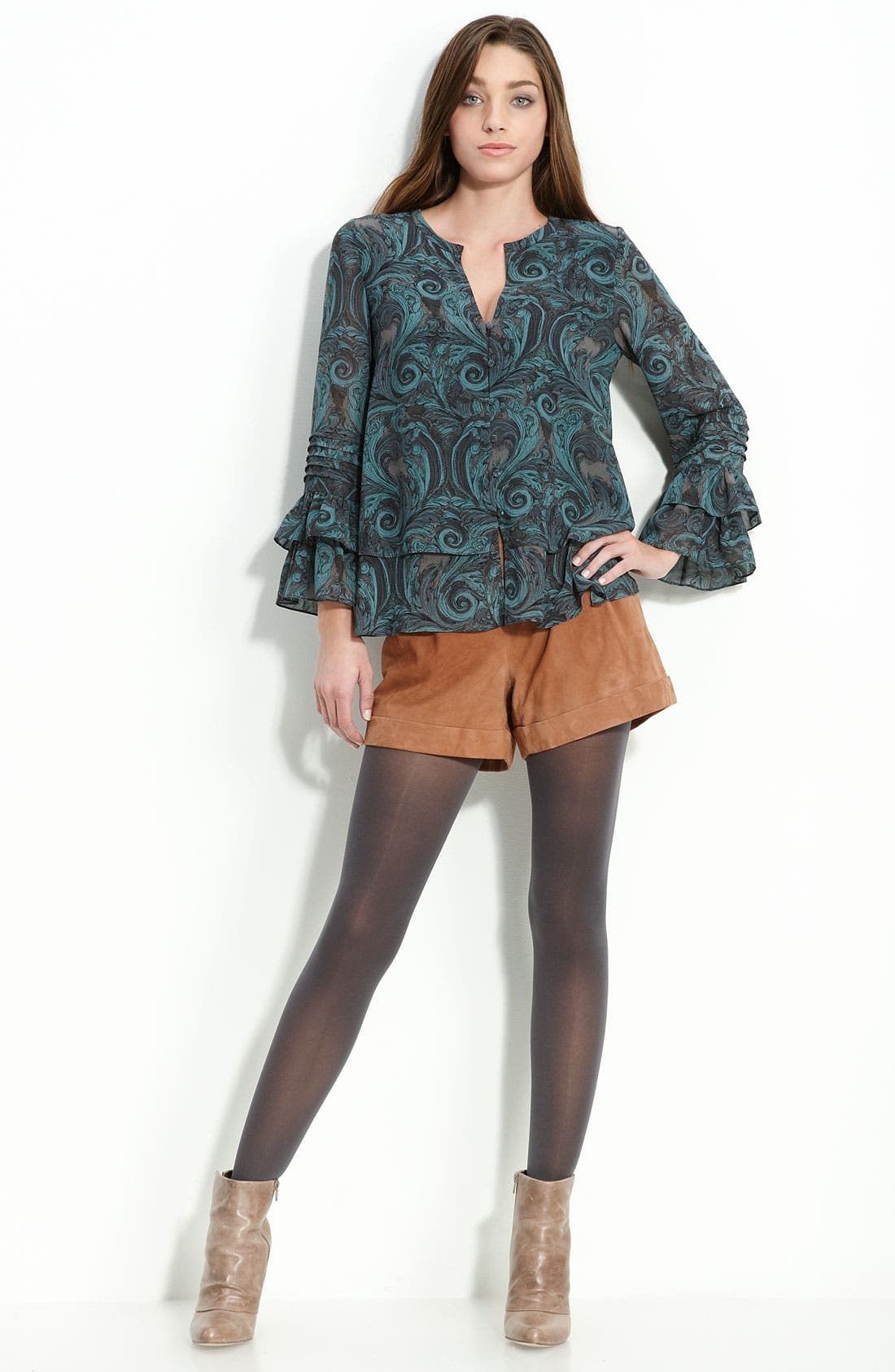 Alternate Image 3  - Hinge® Suede Shorts