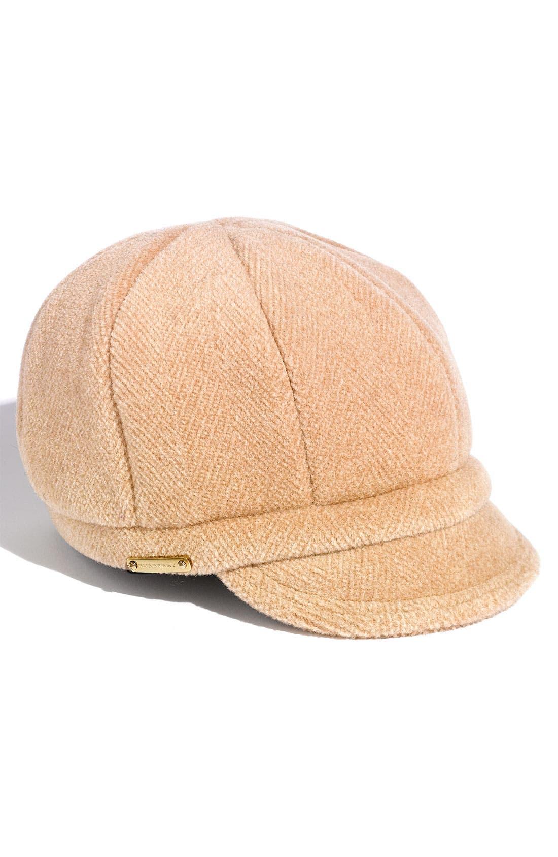 Main Image - Burberry Wool Duffle Cap