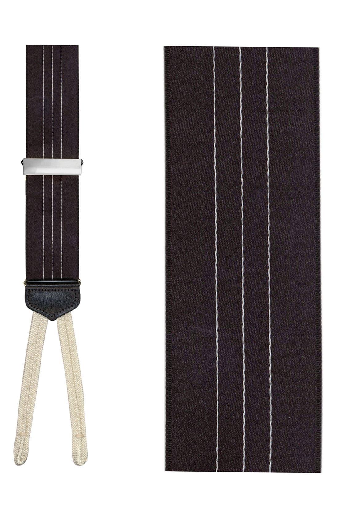 Alternate Image 1 Selected - Trafalgar 'Formal Ascot' Satin Suspenders