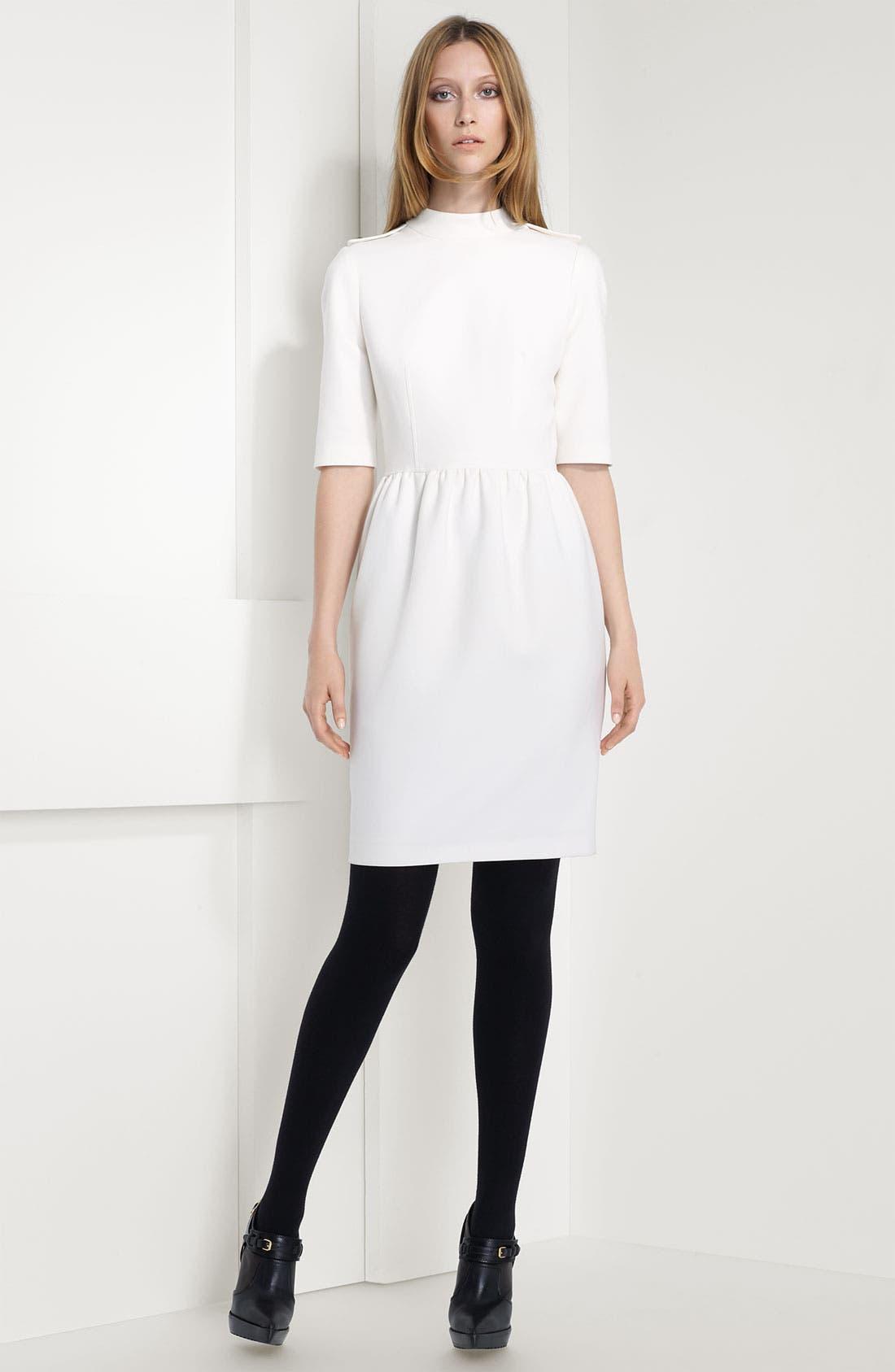Alternate Image 2  - Burberry London Epaulet Dress