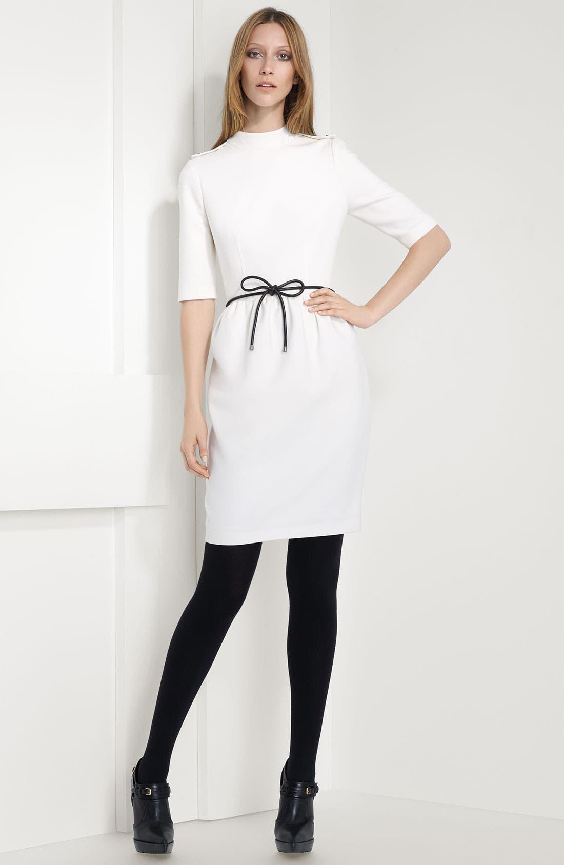 Alternate Image 1 Selected - Burberry London Epaulet Dress