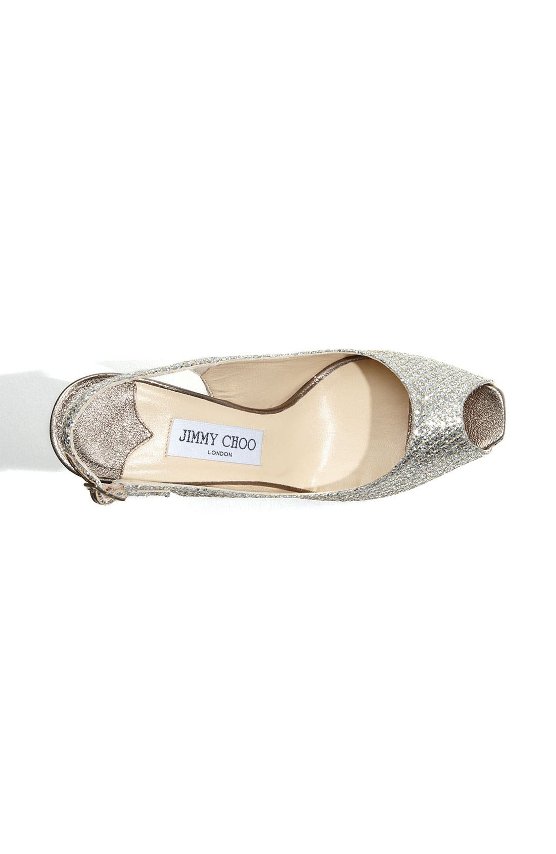 Alternate Image 3  - Jimmy Choo 'Clue' Glitter Slingback Pump (Nordstrom Exclusive Color)