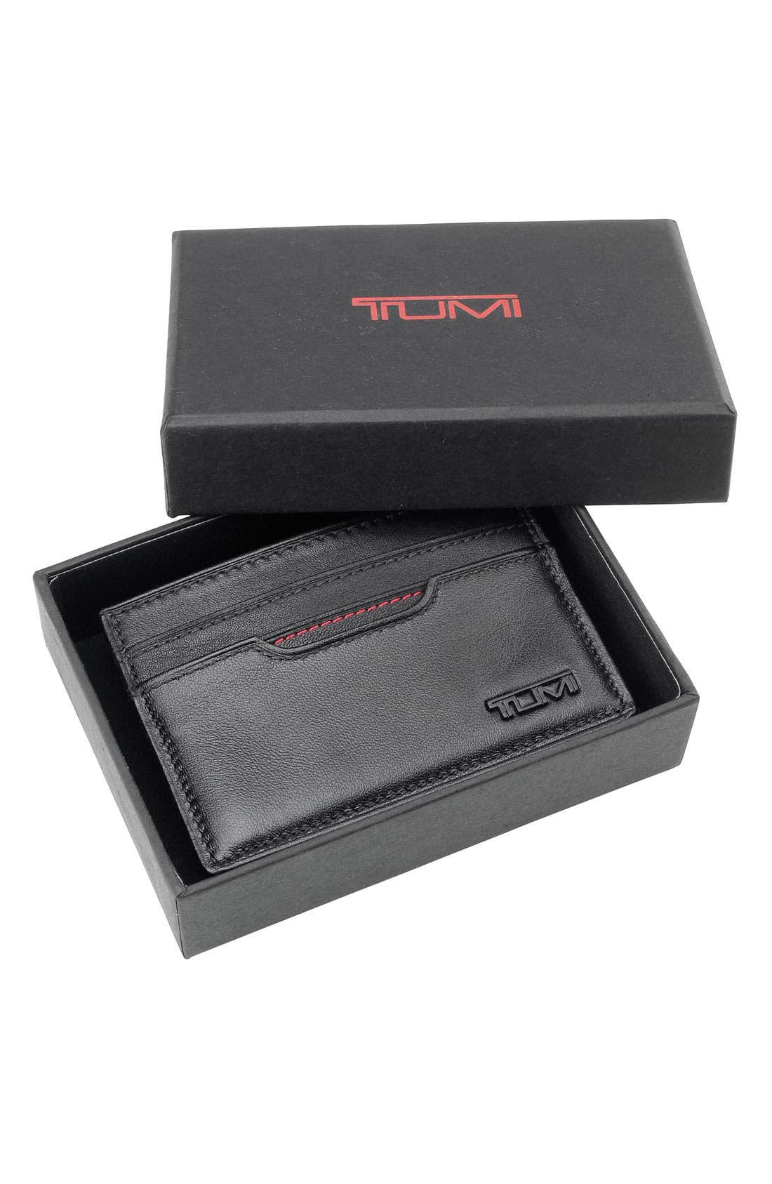 Alternate Image 4  - Tumi 'Delta' Slim Card Case ID Wallet
