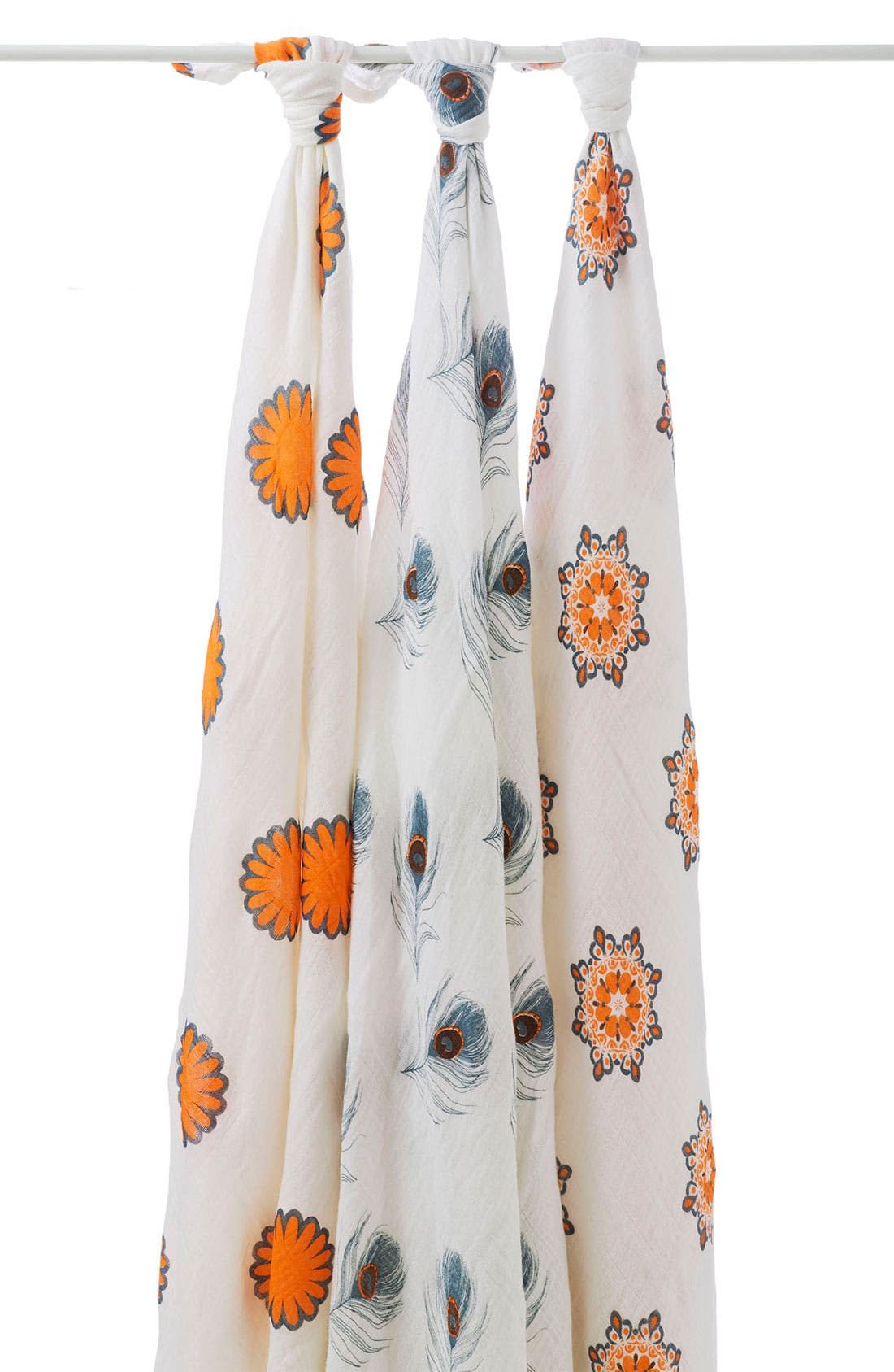 Main Image - aden + anais Swaddling Blankets (3-Pack)