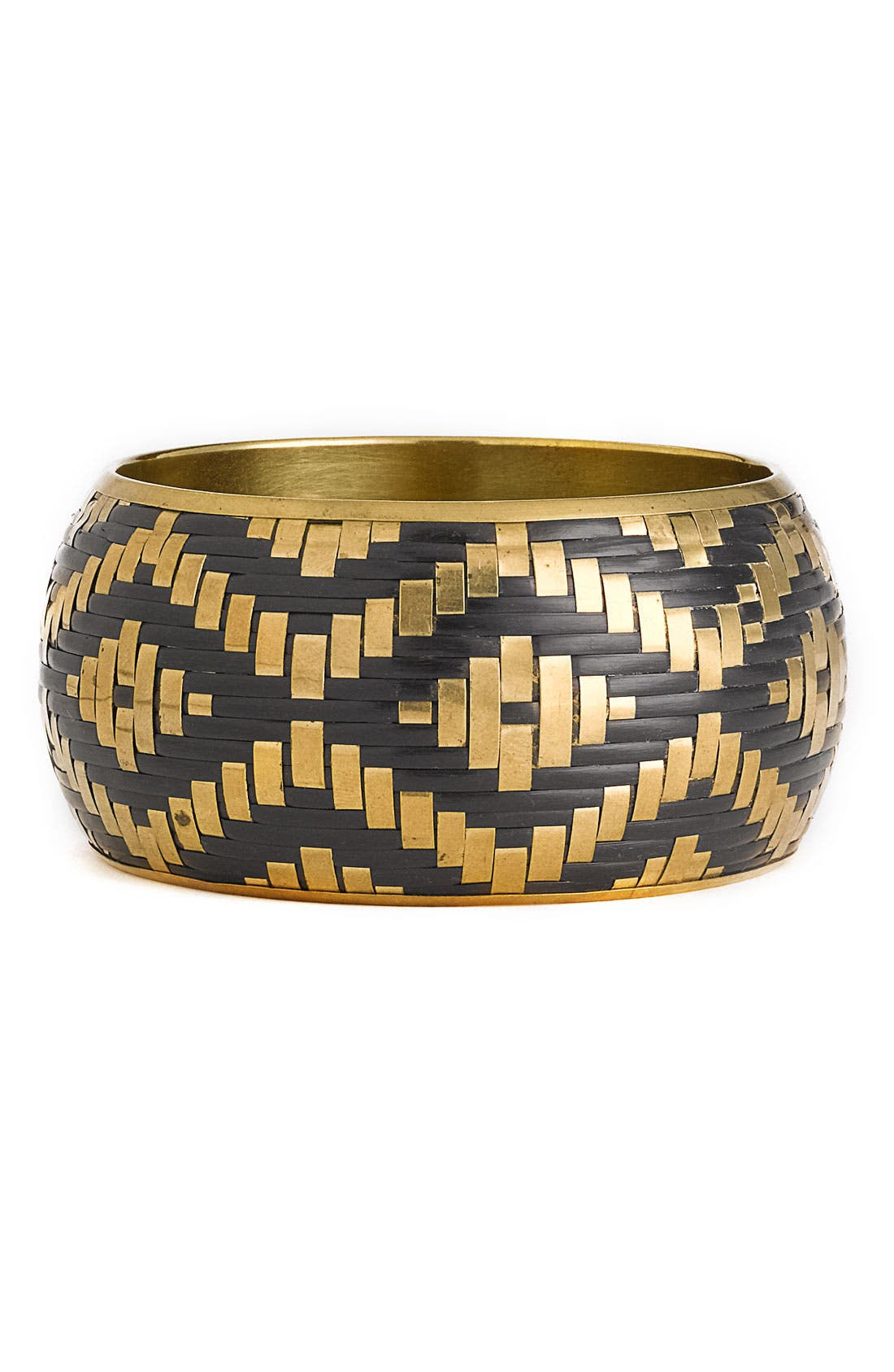 Alternate Image 1 Selected - Zad 'Aztec Print' Woven Bangle