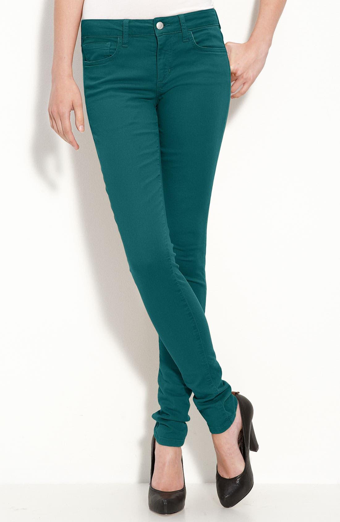 Alternate Image 2  - Joe's 'Chelsea' Skinny Stretch Denim Jeans (Spruce Wash)