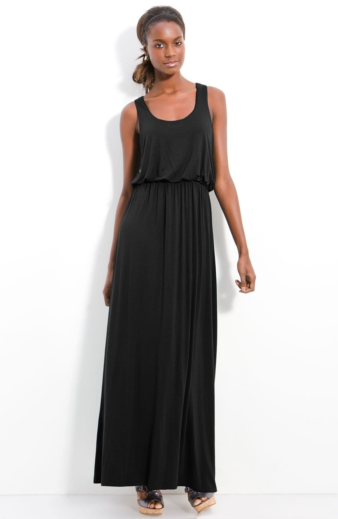 Main Image - Bobeau Racerback Maxi Dress