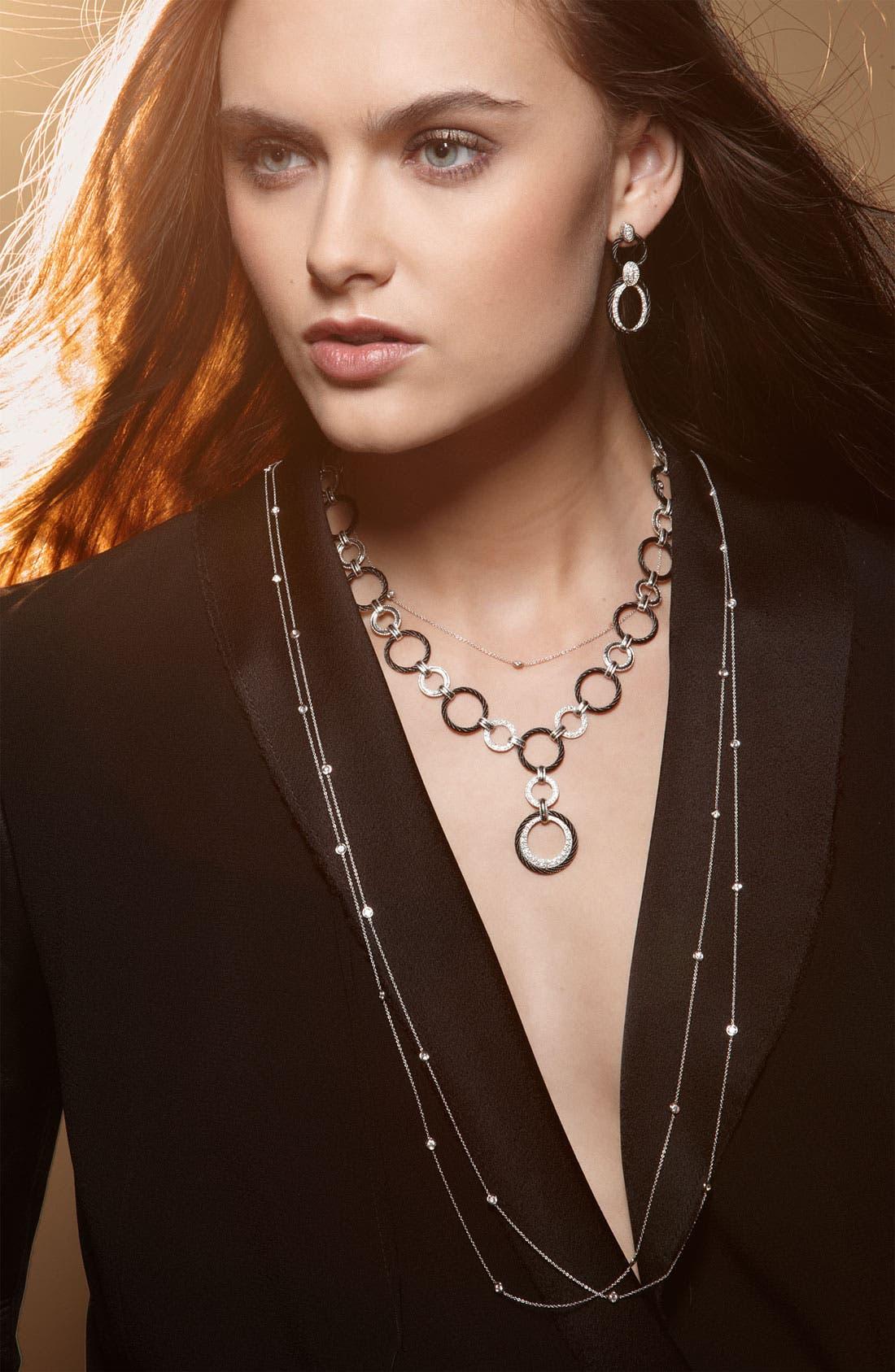 Alternate Image 2  - ALOR® Diamond Necklace
