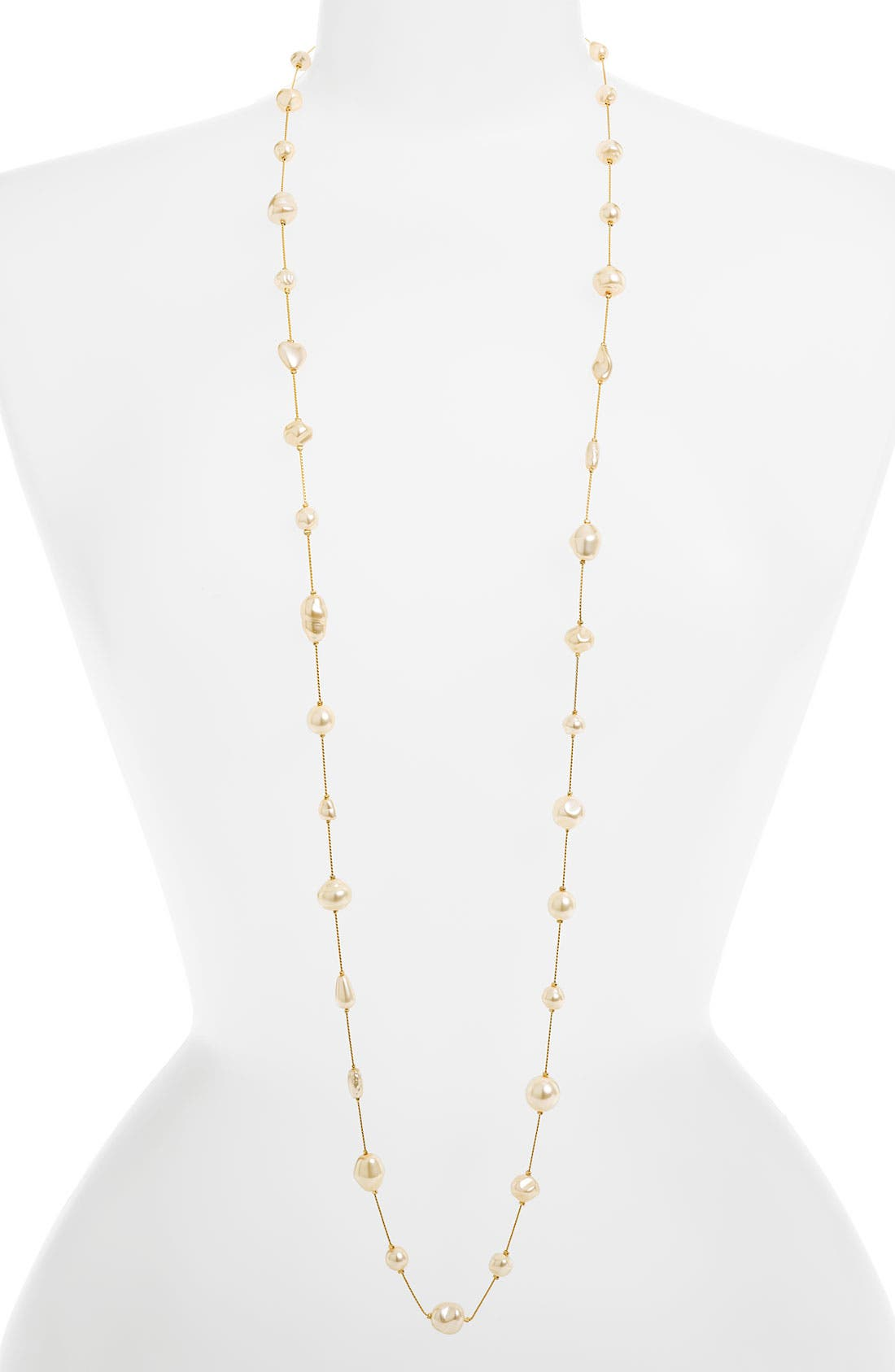 Alternate Image 1 Selected - Dabby Reid Long Strand Pearl Necklace