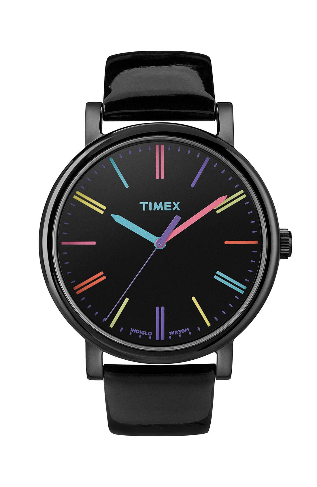 Main Image - Timex® 'Easy Reader' Multi Color Marker Watch, 38mm