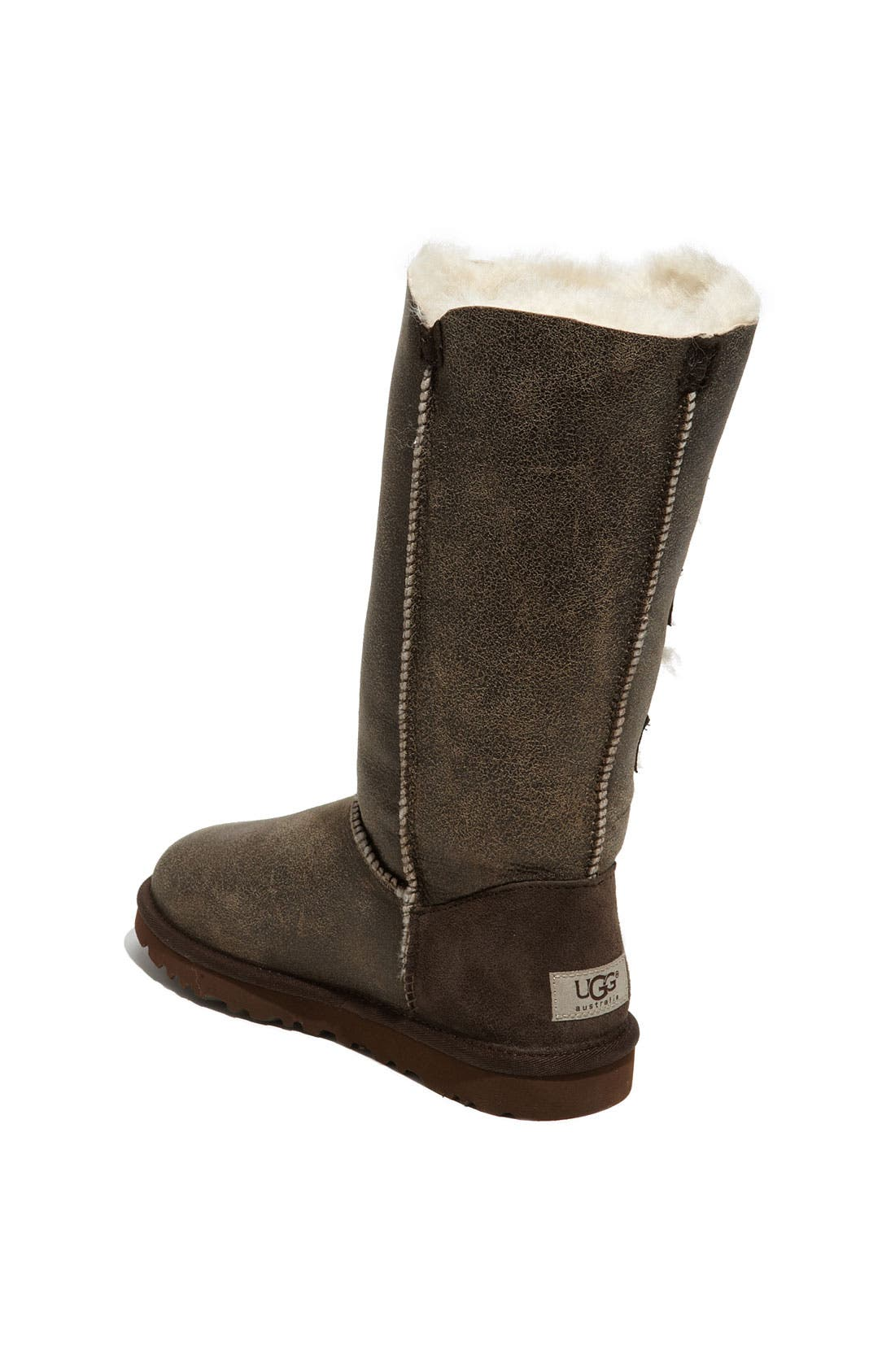 Alternate Image 2  - UGG® Australia 'Bailey Button Triplet' Boot (Bomber) (Women)