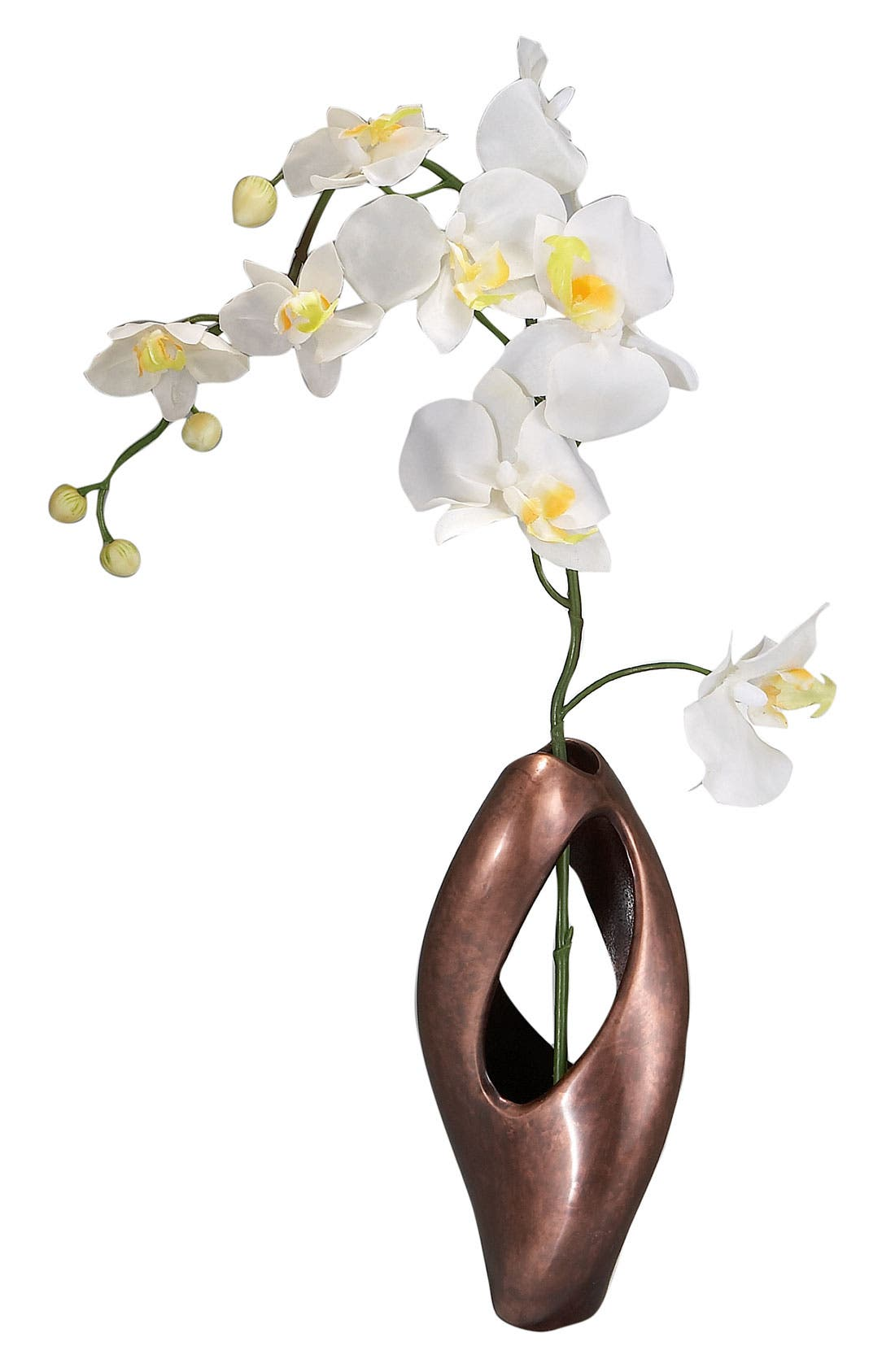 Main Image - Nambé 'Pebble' Twist Bud Vase