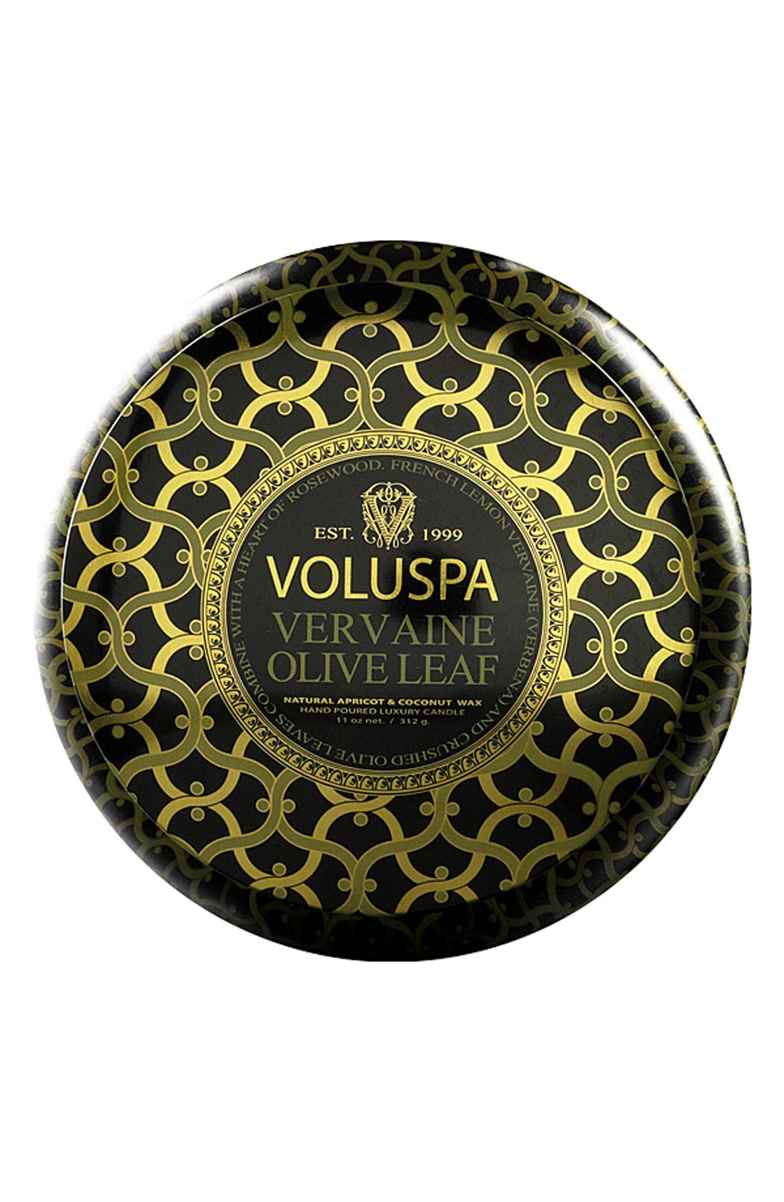 Main Image - Voluspa 'Maison Noir - Vervaine Olive Leaf' Scented 2-Wick Candle