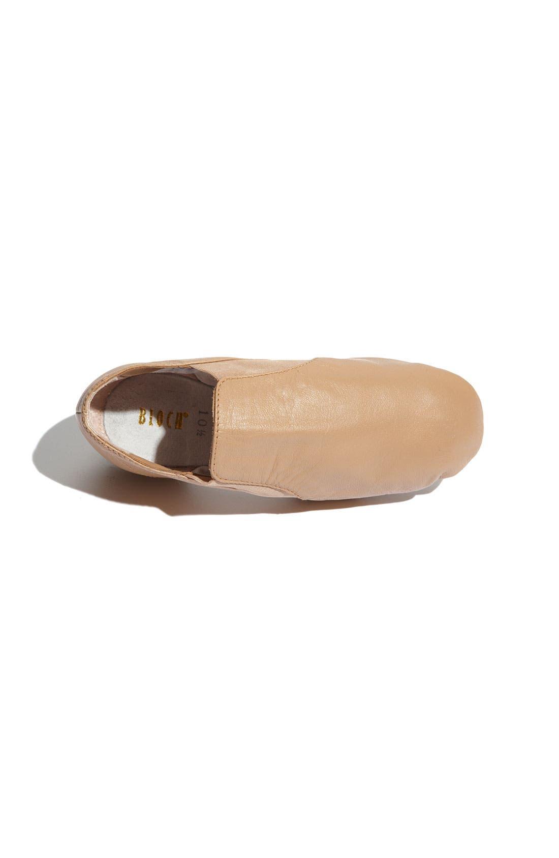 Alternate Image 3  - Bloch 'Elasta Bootie' Jazz Shoe (Toddler, Little Kid & Big Kid)