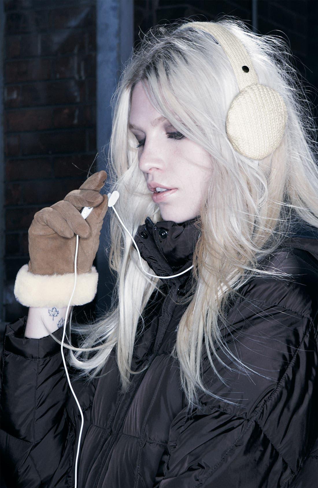 Alternate Image 2  - Ugg® Australia Headphone Earmuffs (Nordstrom Exclusive)