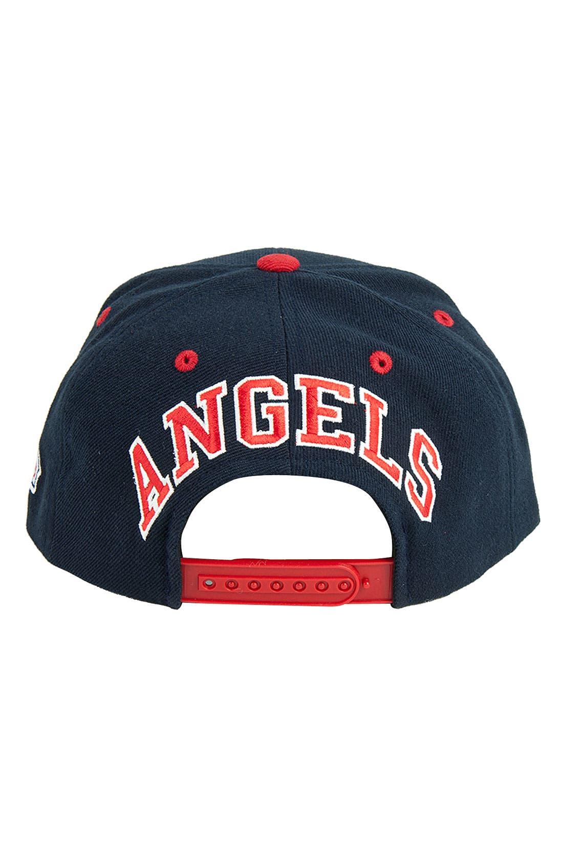 Alternate Image 2  - American Needle 'Blockhead Angels' Snapback Baseball Cap
