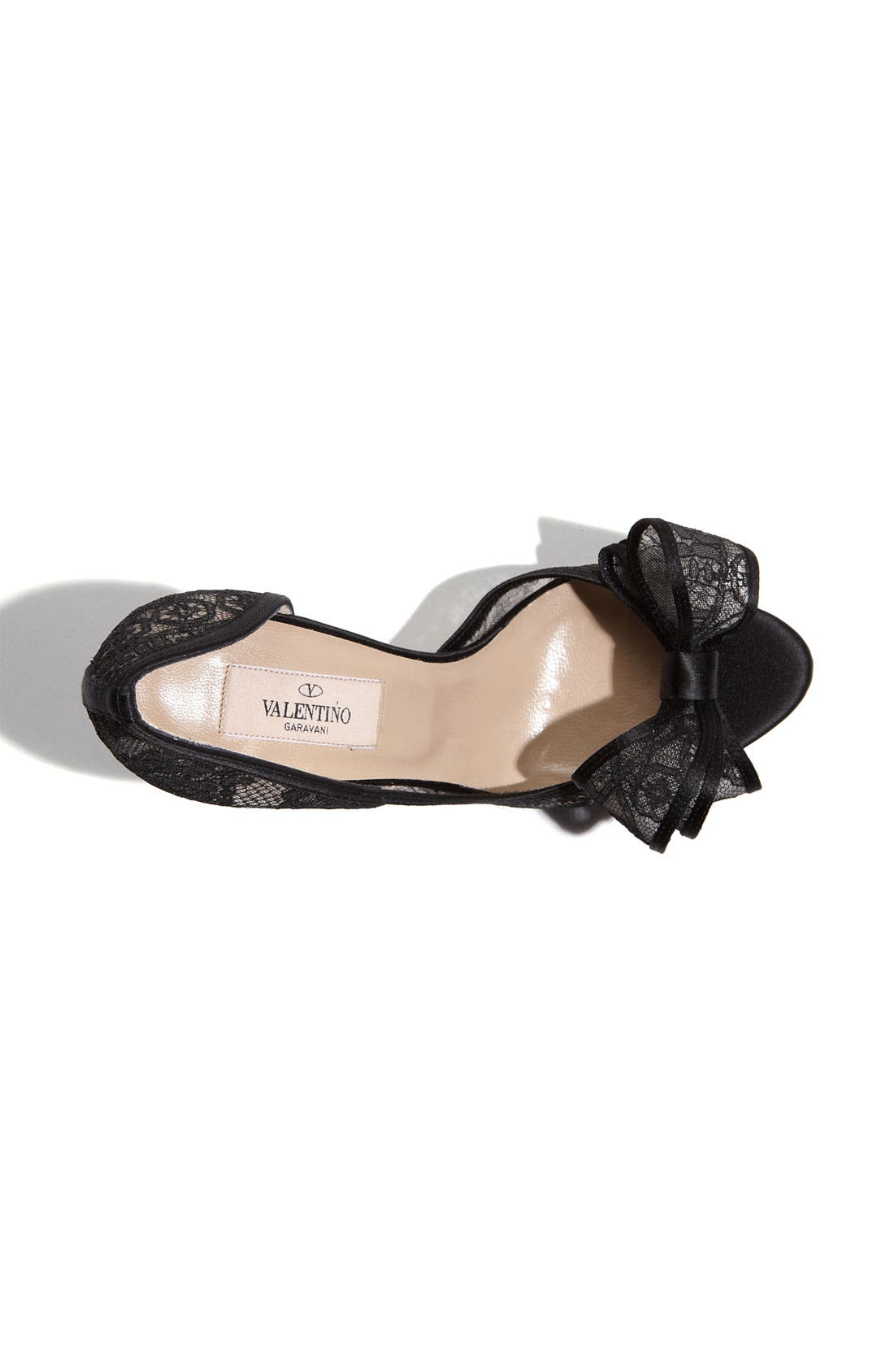 Alternate Image 3  - Valentino Lace Couture Bow d'Orsay Pump