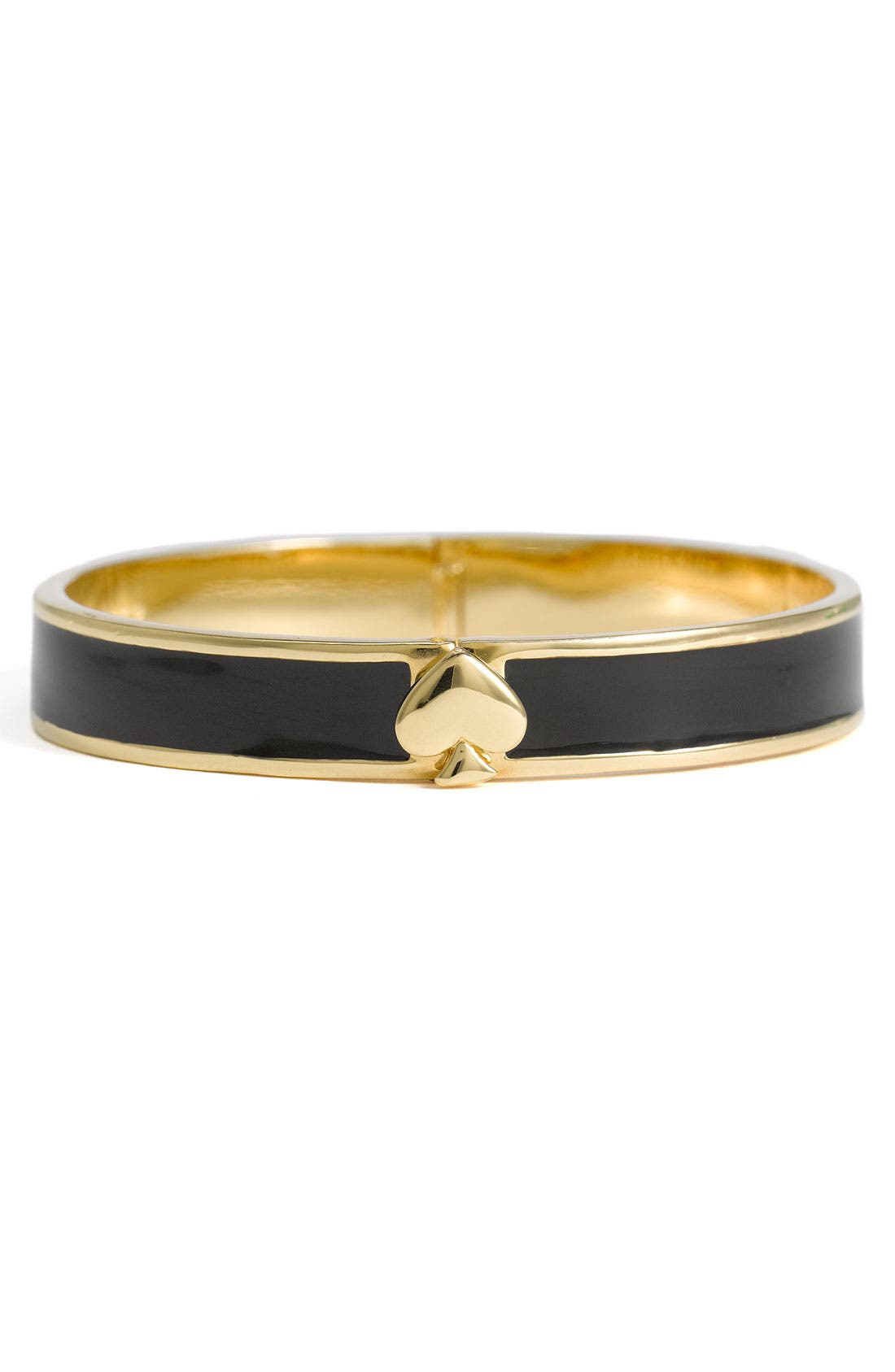 Main Image - kate spade new york 'spade' hinged bangle