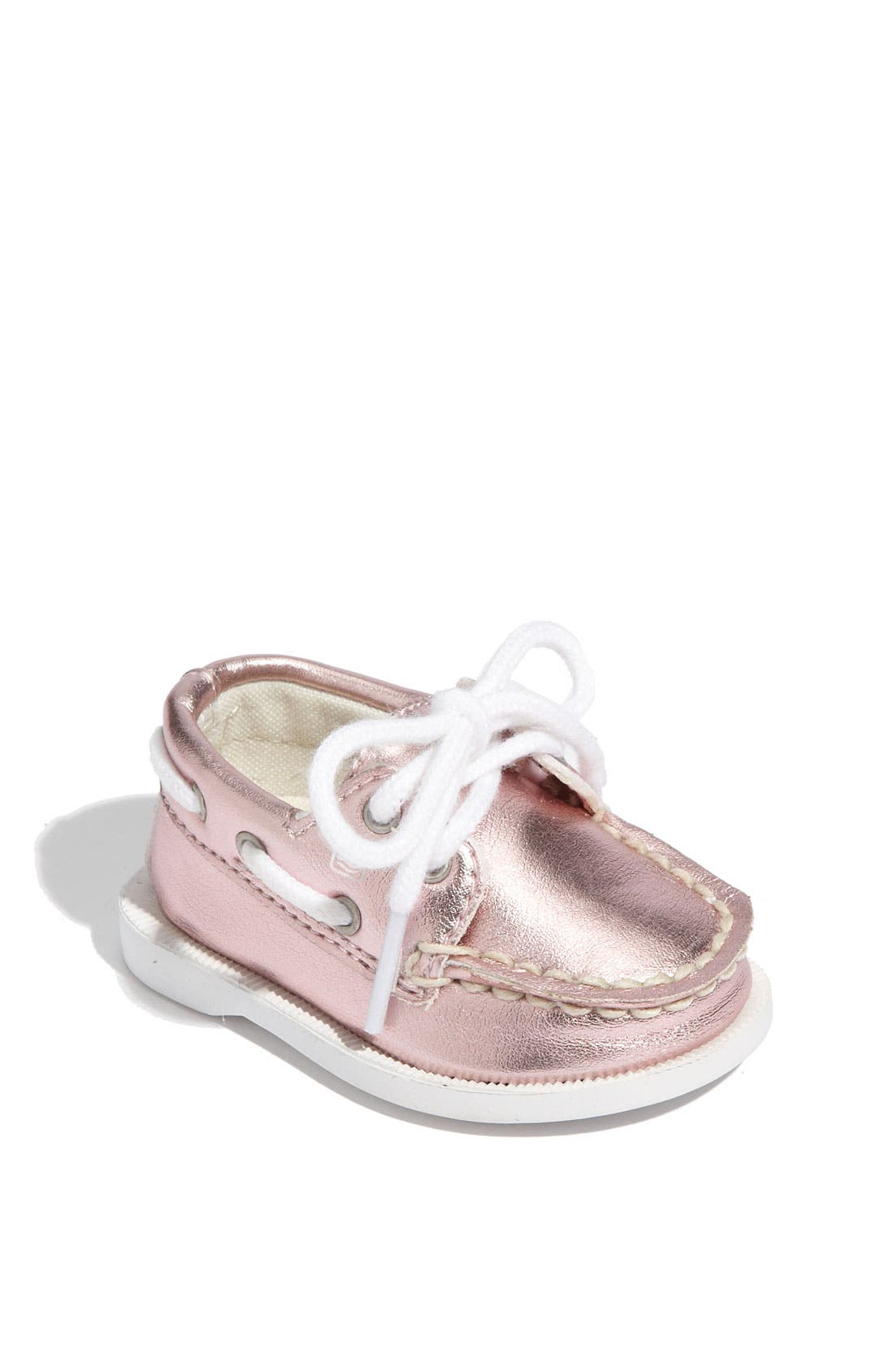 Alternate Image 1 Selected - Sperry Top-Sider® 'Authentic Original' Crib Shoe (Baby)