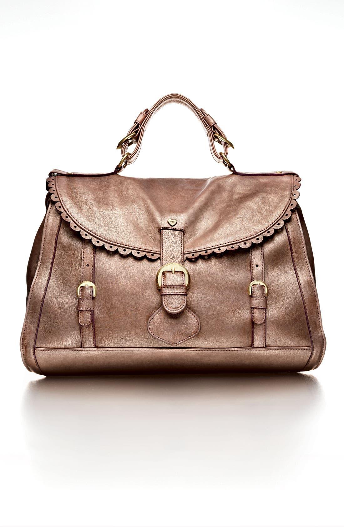 Alternate Image 5  - See By Chloé 'Poya Vintage - Large' Metallic Leather Satchel