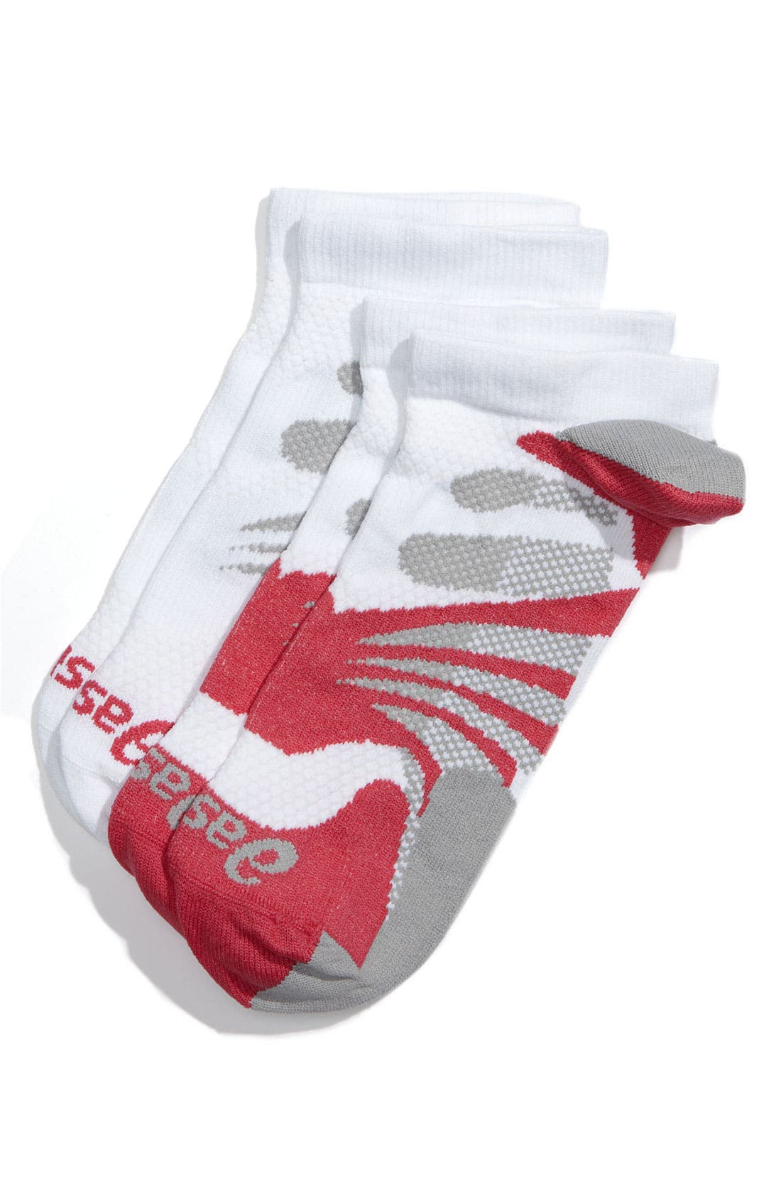 Main Image - ASICS® 'Hera Diva Sleek' Running Socks (2-Pack) (Women)