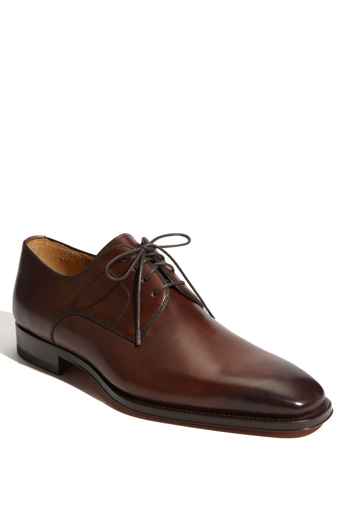 Alternate Image 1 Selected - Magnanni 'Colo' Plain Toe Derby (Men)