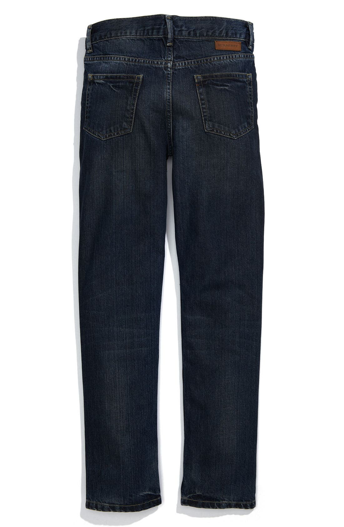 Alternate Image 1 Selected - Burberry Slim Fit Jeans (Big Boys)