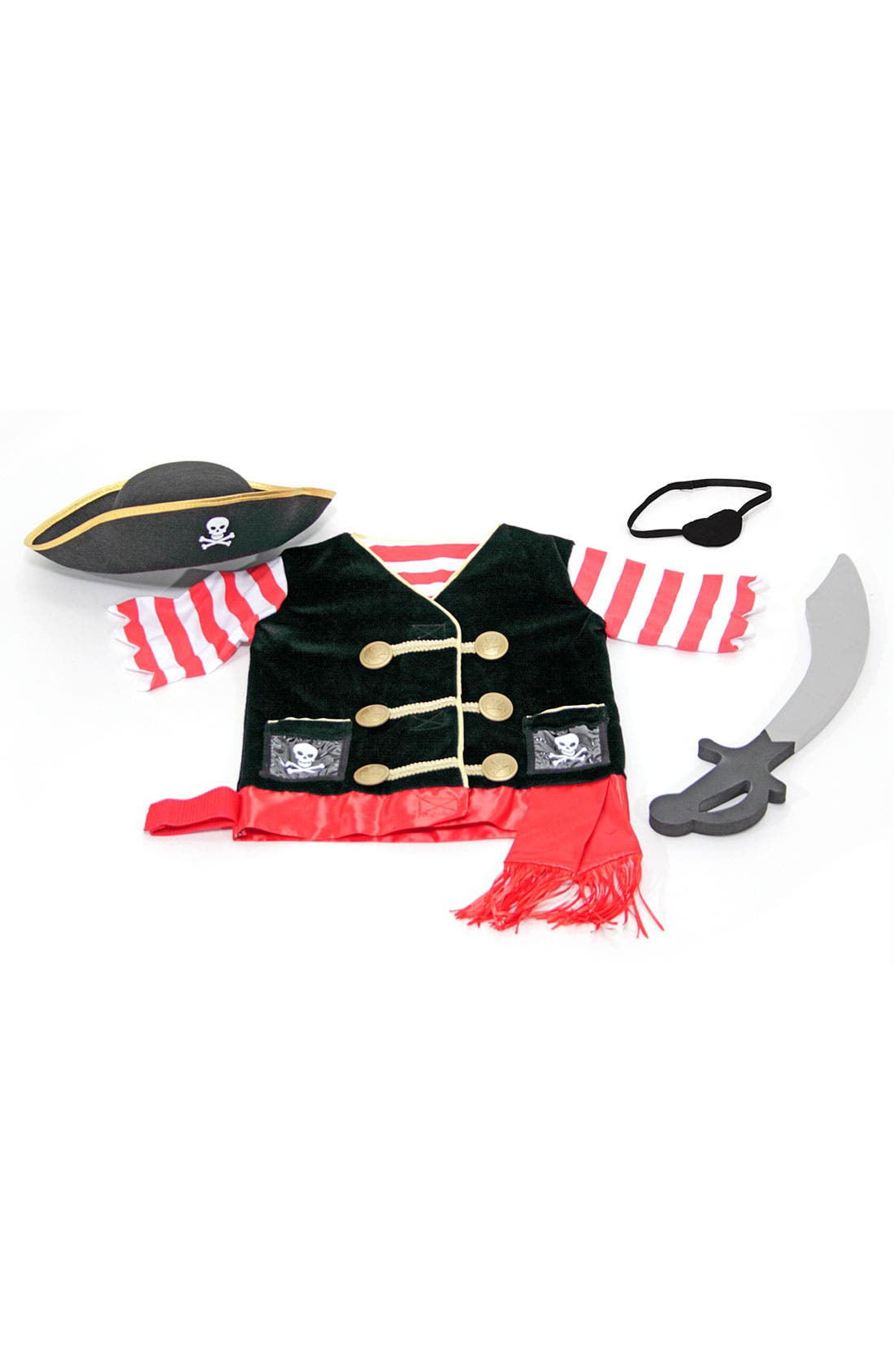 Alternate Image 2  - Melissa & Doug Pirate Costume (Toddler)