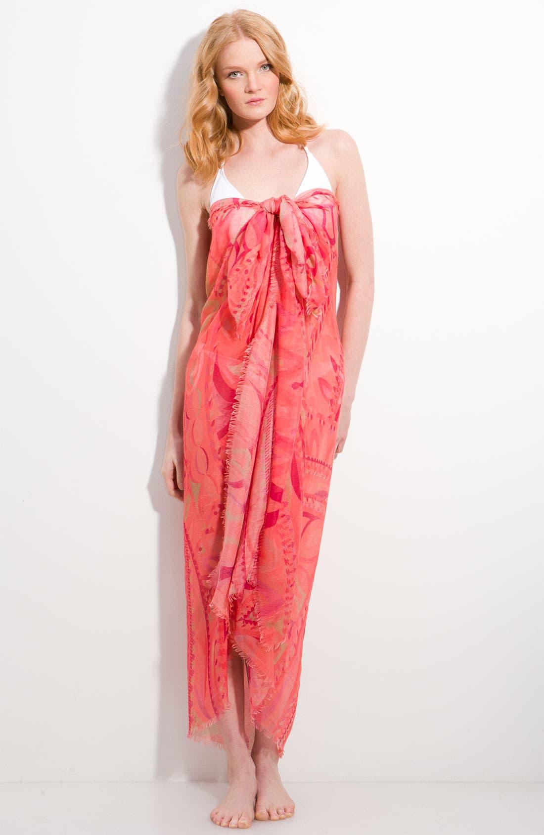 Main Image - Emilio Pucci 'Isfahan Acquerello' Cashmere & Silk Scarf