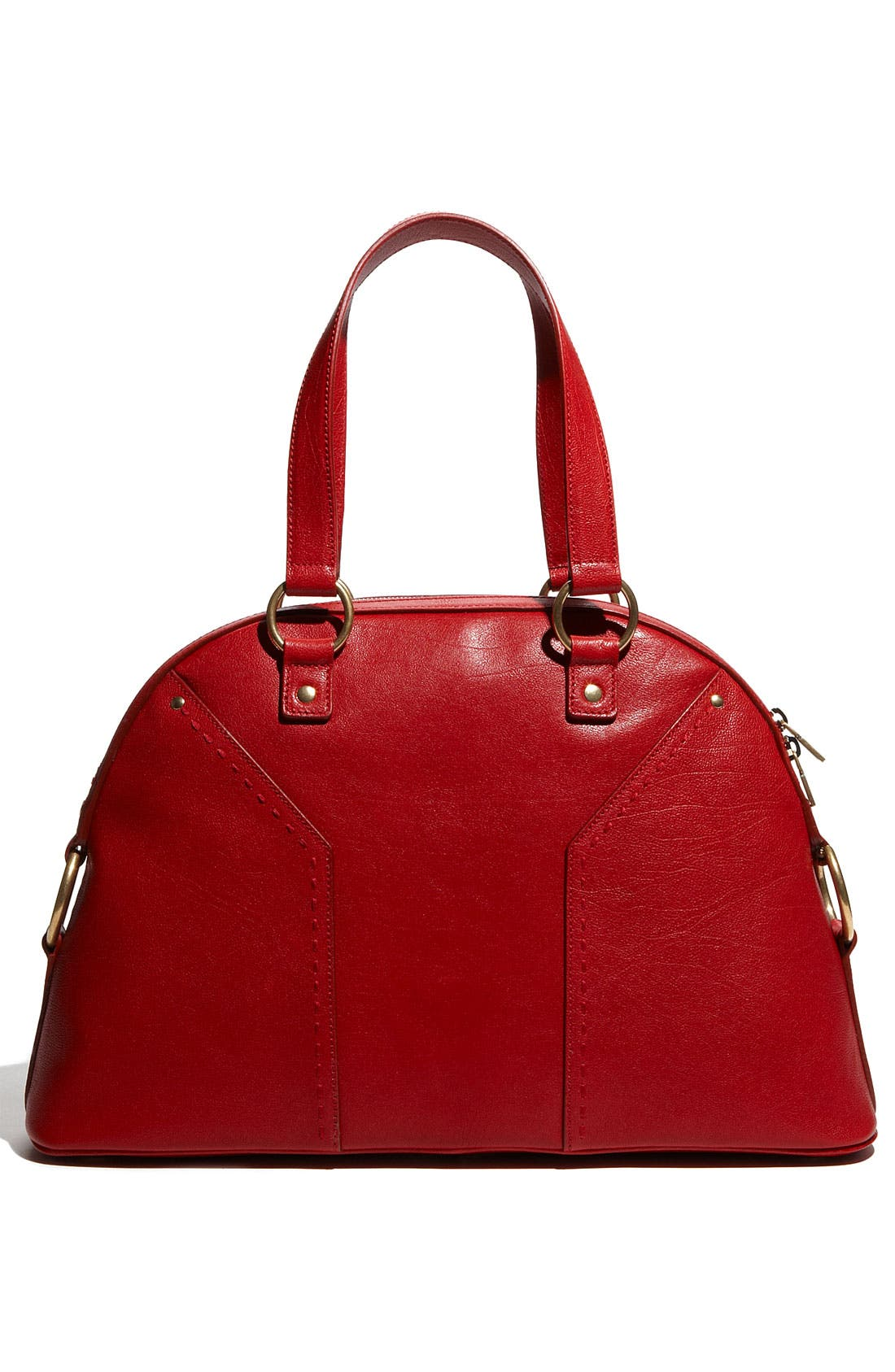 Alternate Image 4  - Yves Saint Laurent 'Muse - Large' Leather Dome Satchel