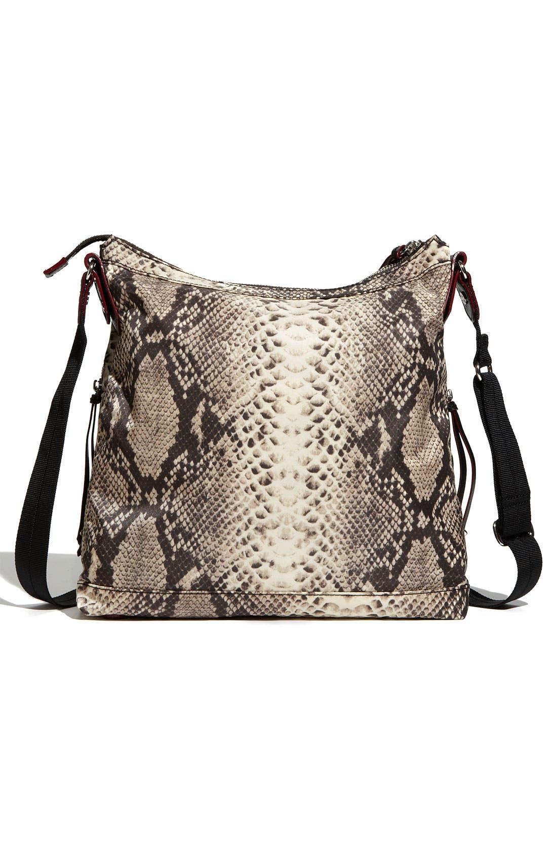 Alternate Image 4  - M Z Wallace 'Mia' Snake Print Crossbody Bag