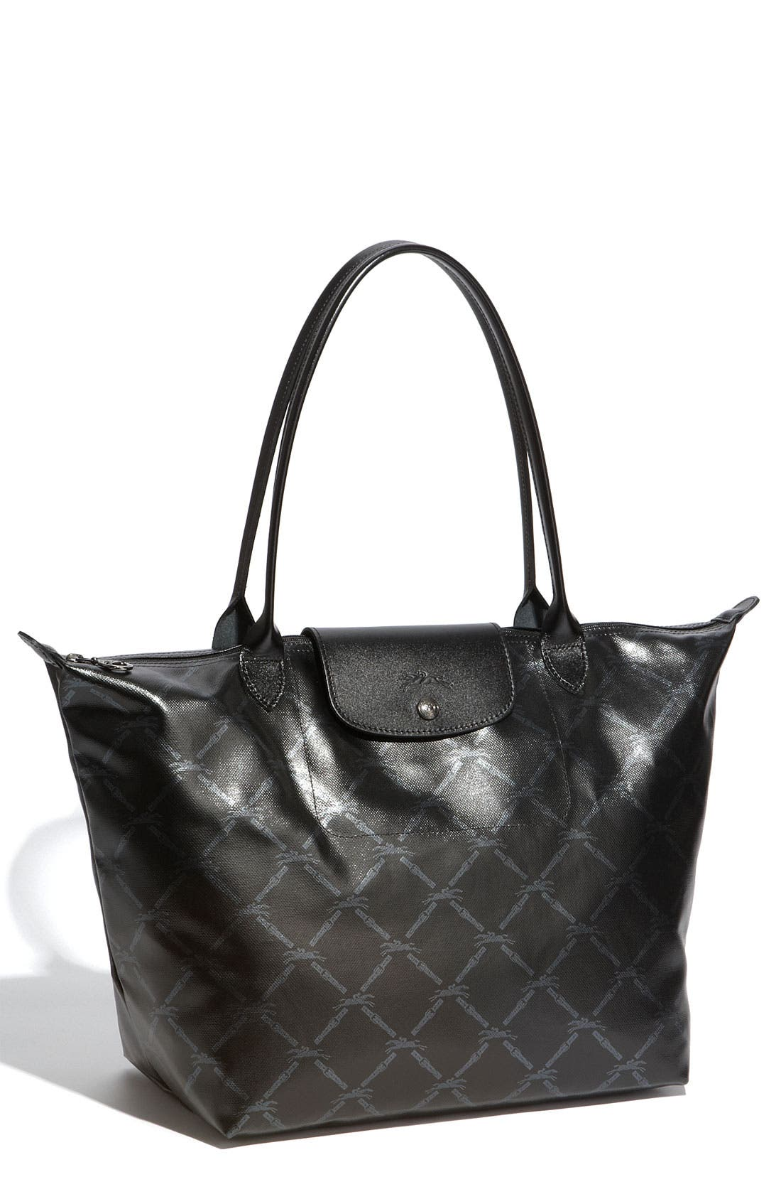 Alternate Image 1 Selected - Longchamp 'LM Metal' Shoulder Tote