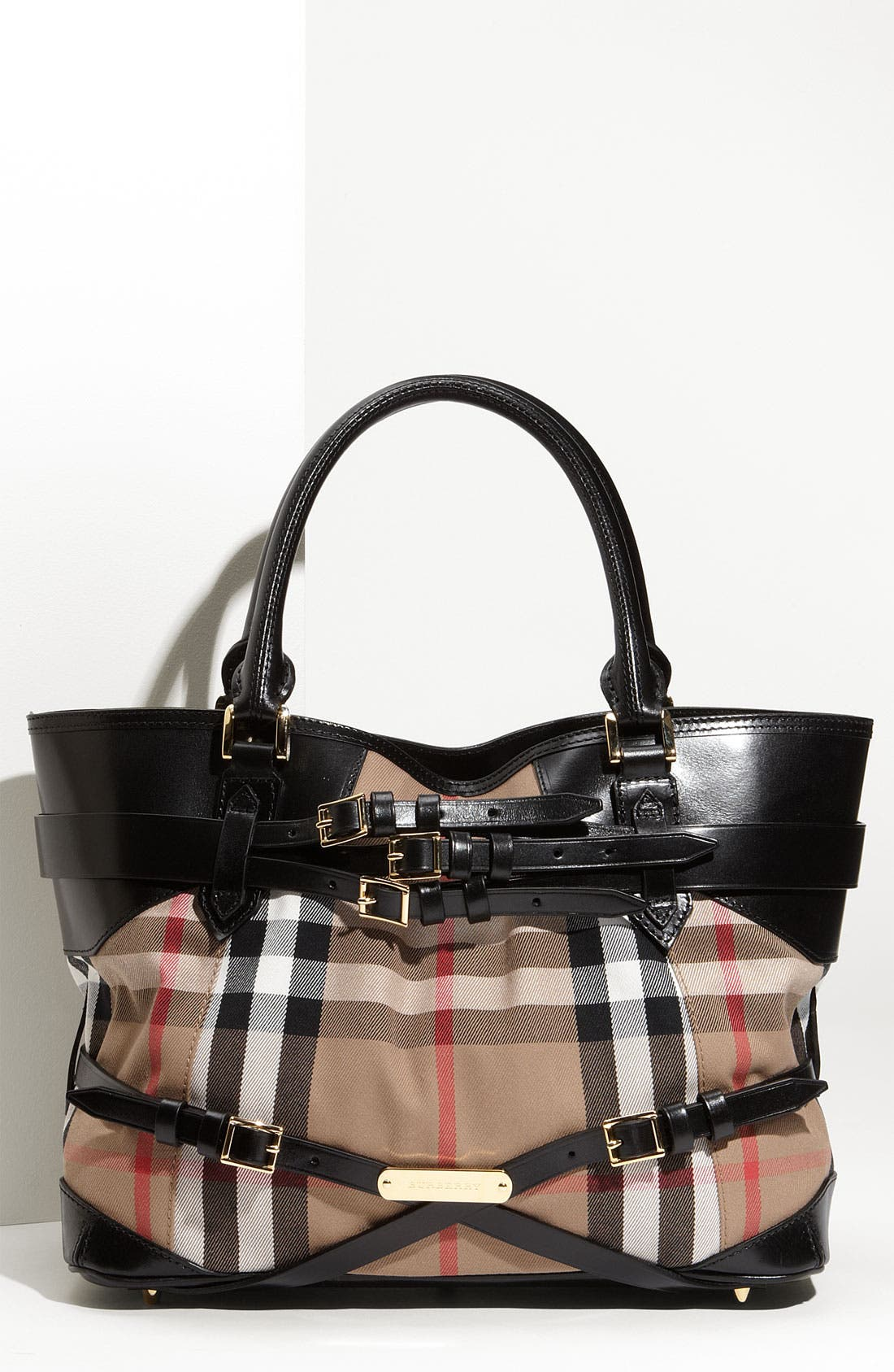 Alternate Image 1 Selected - Burberry 'House Check' Tote, Large