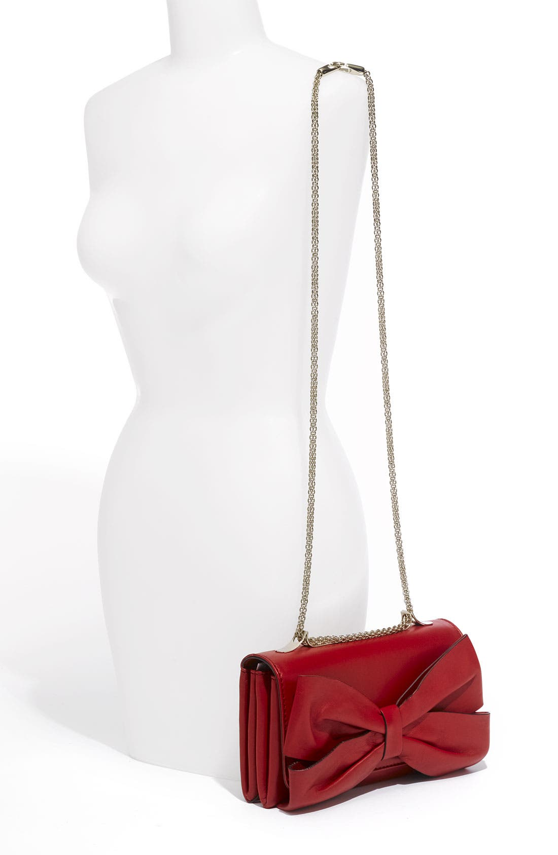 Alternate Image 2  - Valentino 'Bow Flap' Leather Shoulder Bag